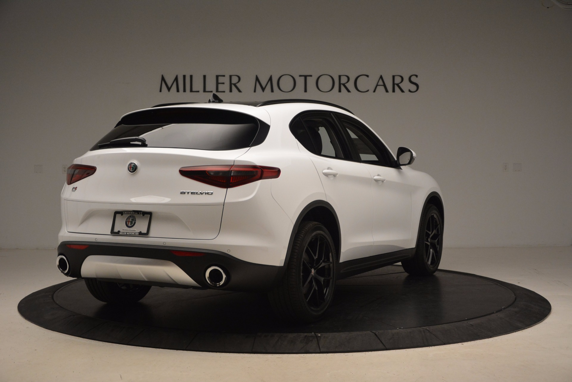 New 2018 Alfa Romeo Stelvio Sport Q4 For Sale In Westport, CT 1627_p7