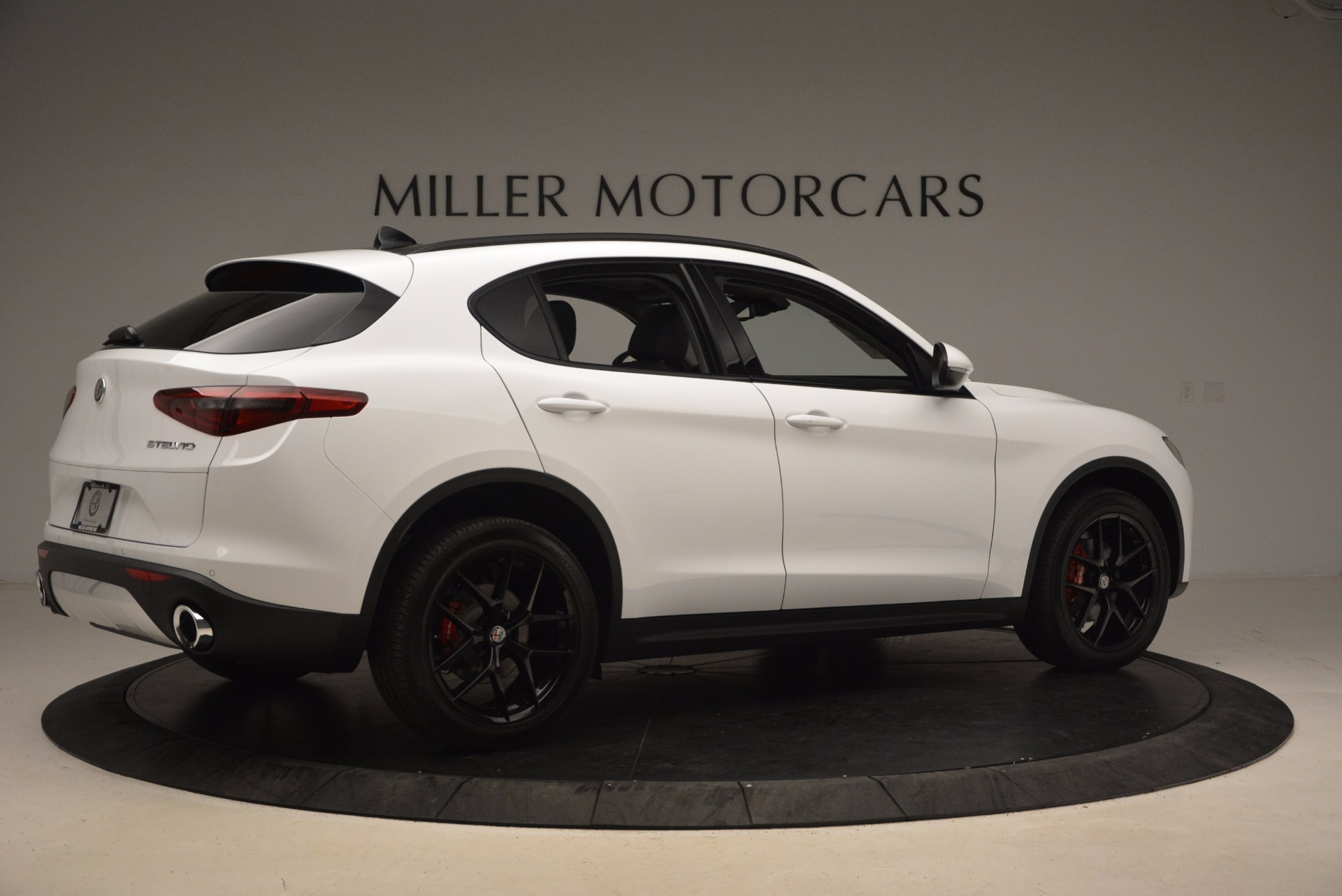 New 2018 Alfa Romeo Stelvio Sport Q4 For Sale In Westport, CT 1627_p8