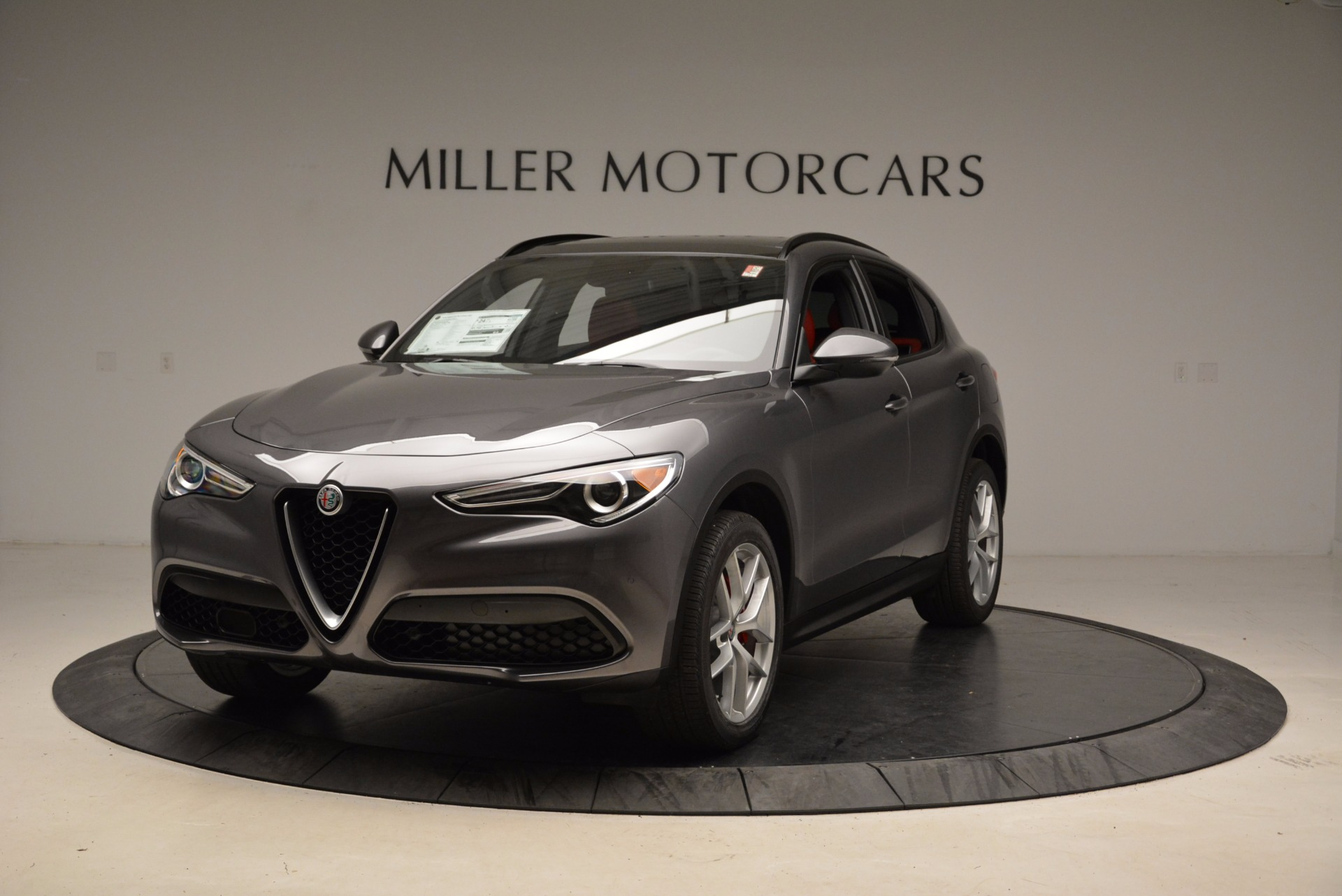 New 2018 Alfa Romeo Stelvio Ti Sport Q4 For Sale In Westport, CT 1629_main