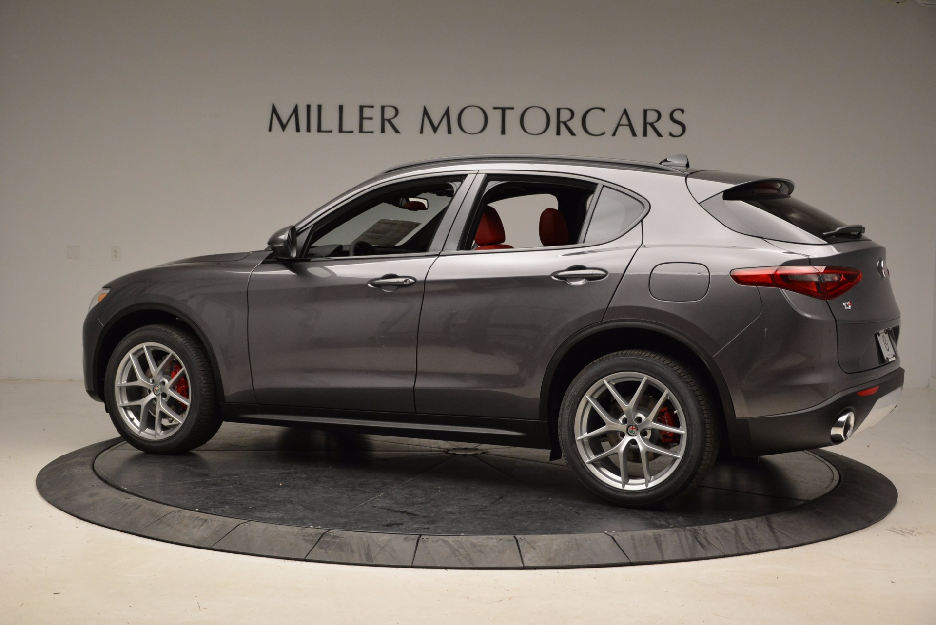 New 2018 Alfa Romeo Stelvio Ti Sport Q4 For Sale In Westport, CT 1629_p4