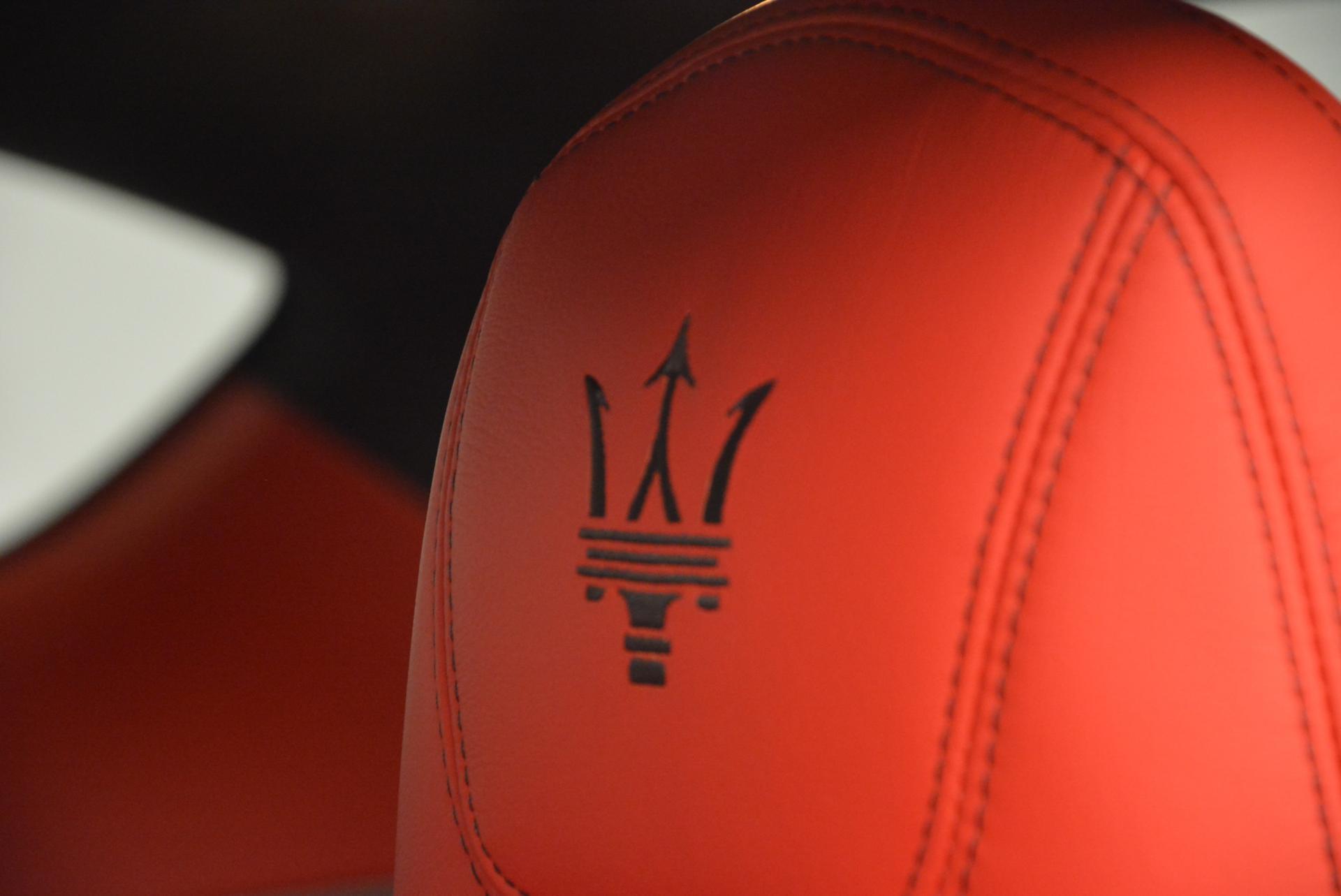 New 2016 Maserati GranTurismo Sport For Sale In Westport, CT 163_p19