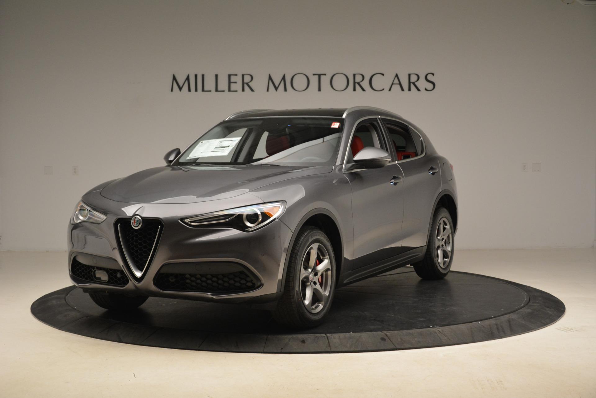 New 2018 Alfa Romeo Stelvio Q4 For Sale In Westport, CT 1637_main