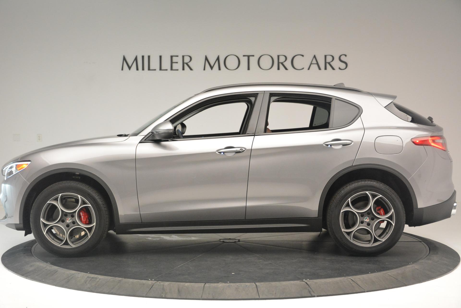 New 2018 Alfa Romeo Stelvio Sport Q4 For Sale In Westport, CT 1638_p2