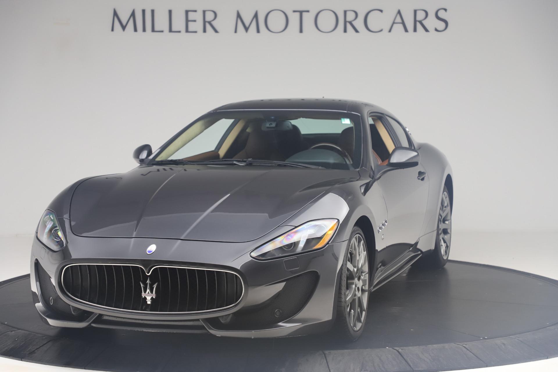New 2016 Maserati GranTurismo Sport For Sale In Westport, CT 164_main