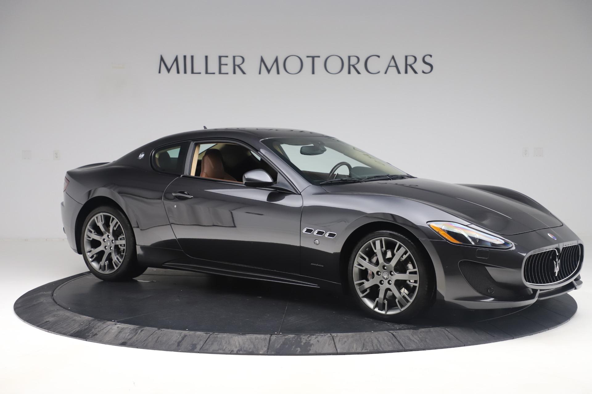 New 2016 Maserati GranTurismo Sport For Sale In Westport, CT 164_p10