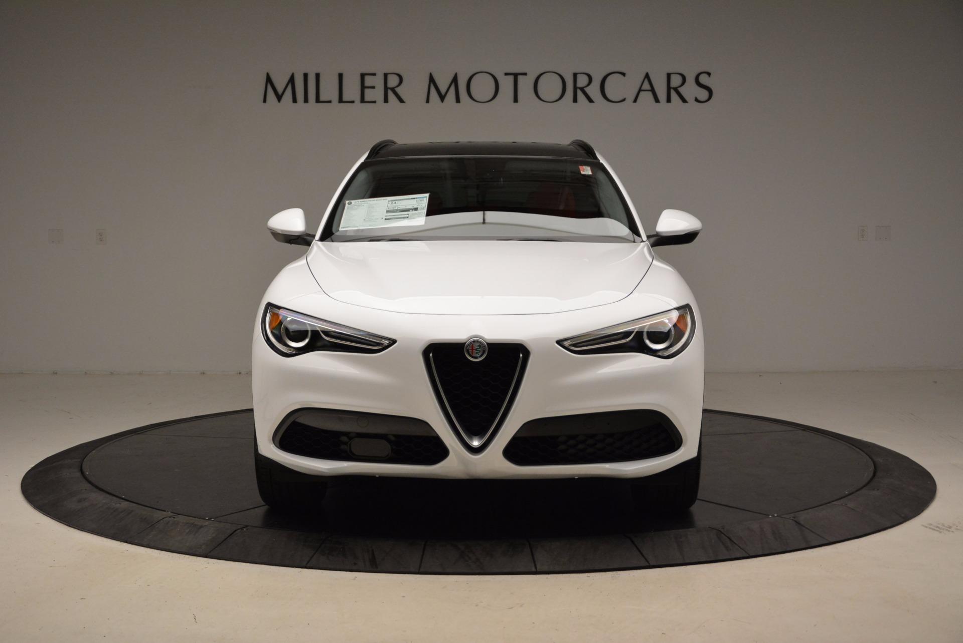 New 2018 Alfa Romeo Stelvio Sport Q4 For Sale In Westport, CT 1642_p12