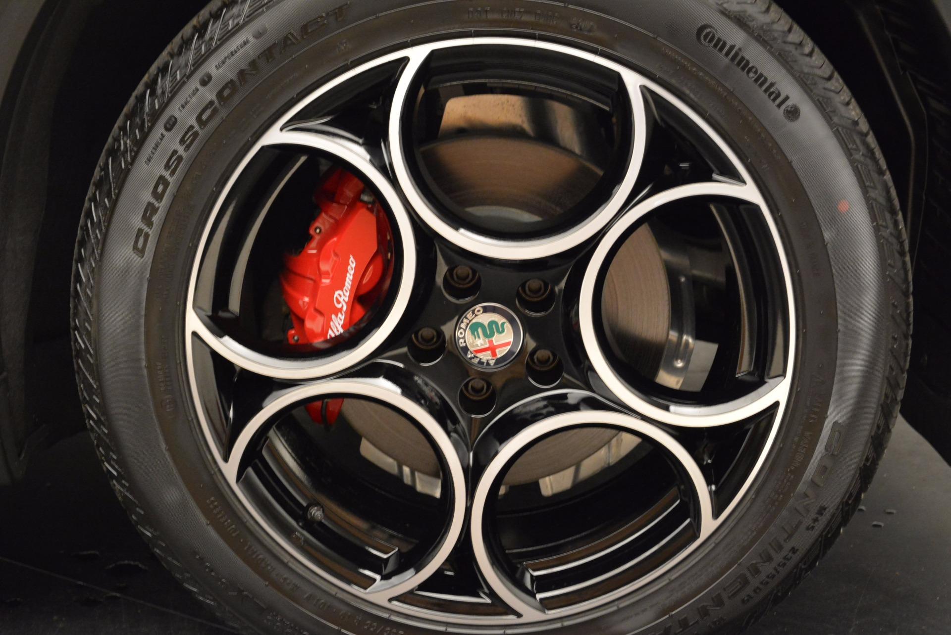 New 2018 Alfa Romeo Stelvio Sport Q4 For Sale In Westport, CT 1642_p25
