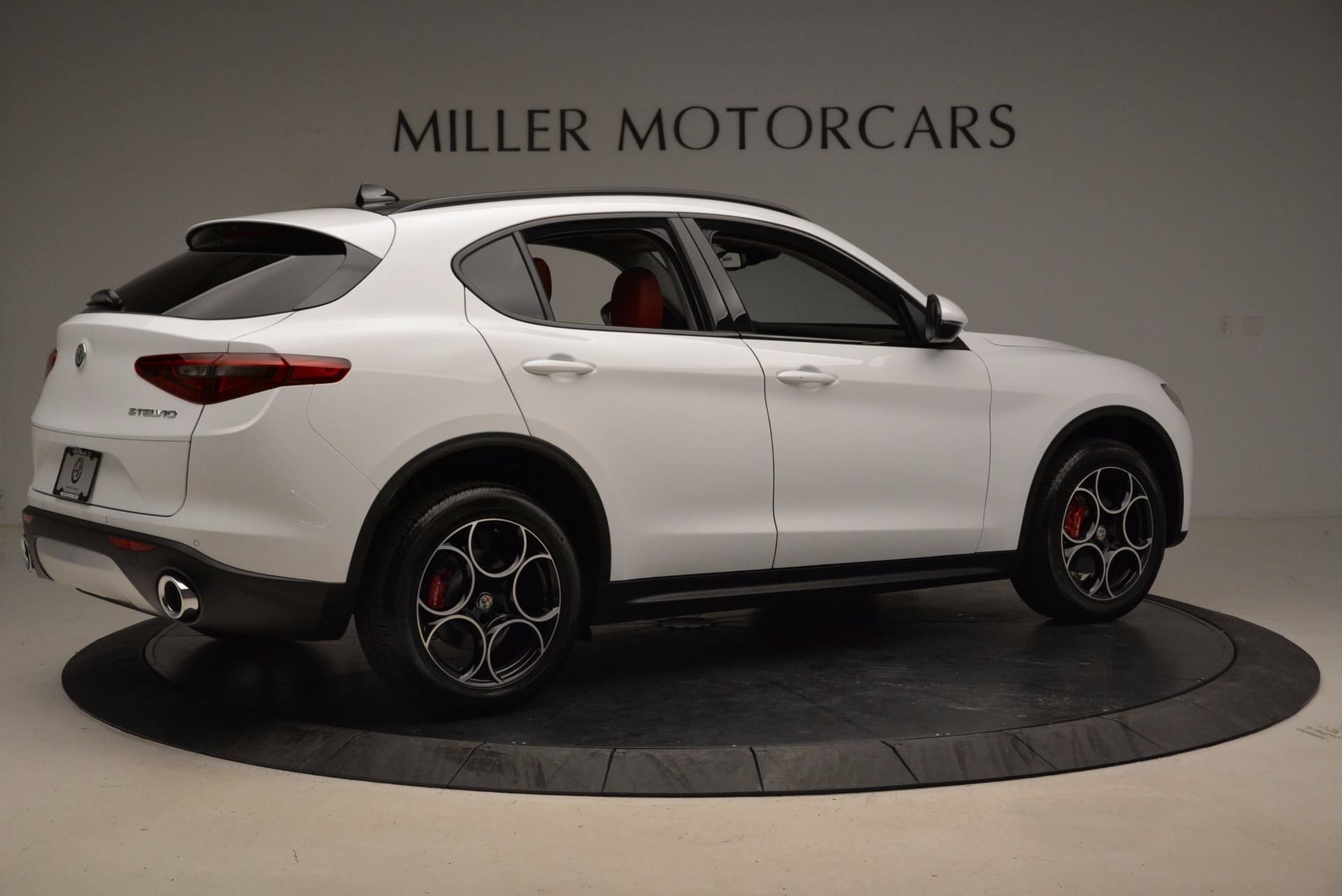 New 2018 Alfa Romeo Stelvio Sport Q4 For Sale In Westport, CT 1642_p8