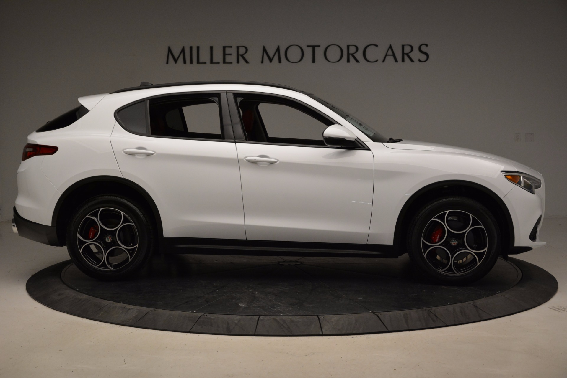 New 2018 Alfa Romeo Stelvio Sport Q4 For Sale In Westport, CT 1642_p9