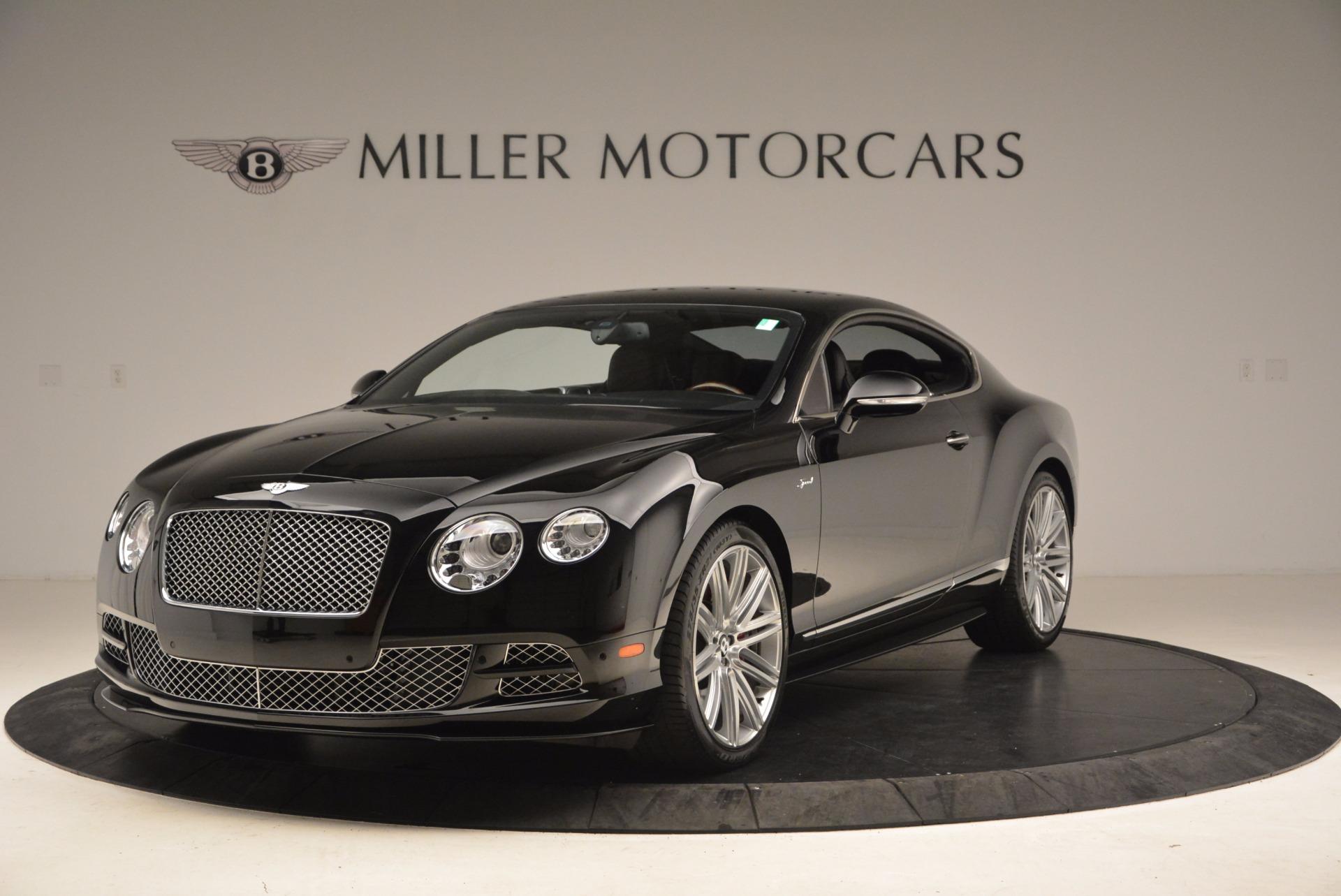 Used 2015 Bentley Continental GT Speed For Sale In Westport, CT 1646_main