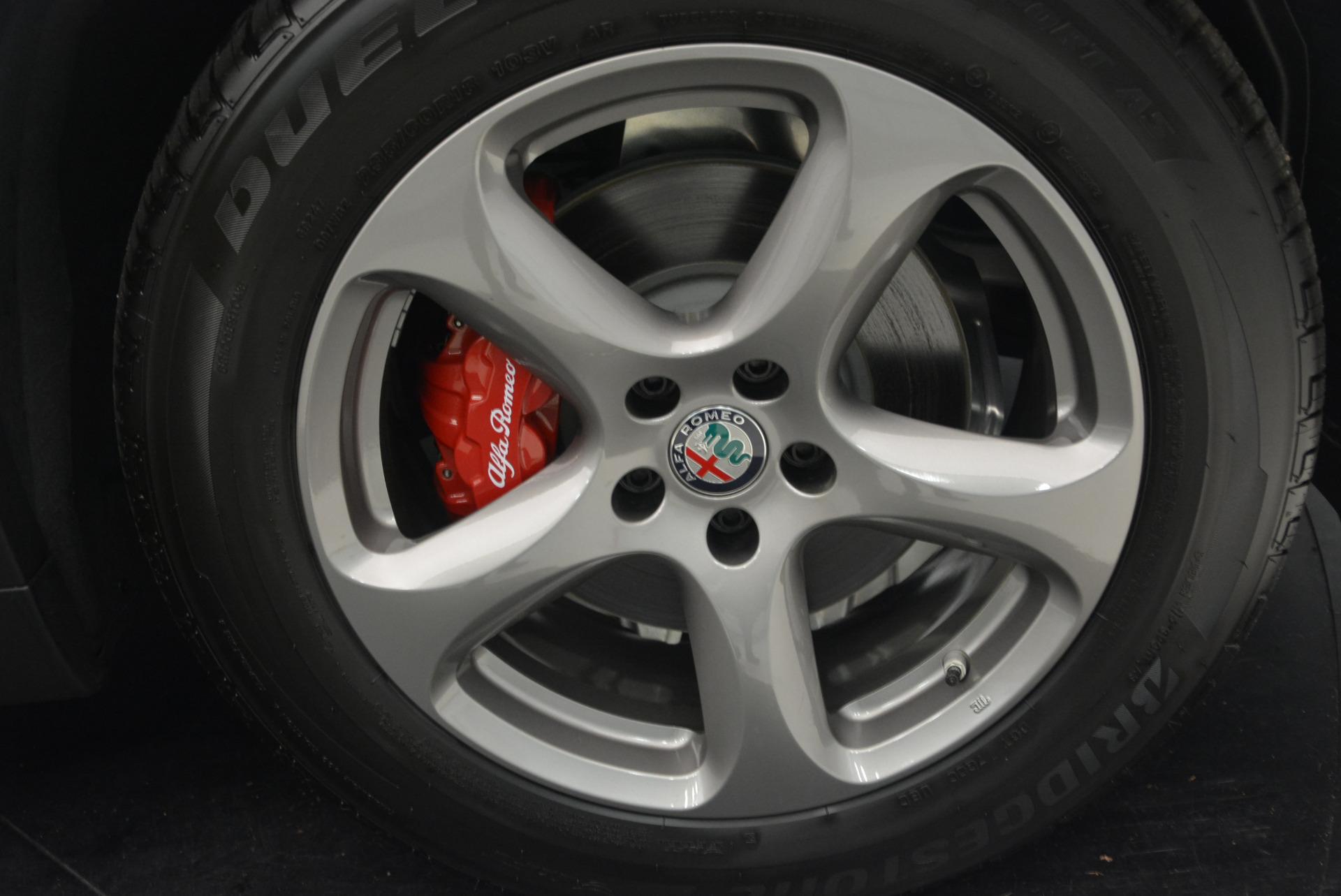 New 2018 Alfa Romeo Stelvio Q4 For Sale In Westport, CT 1649_p25