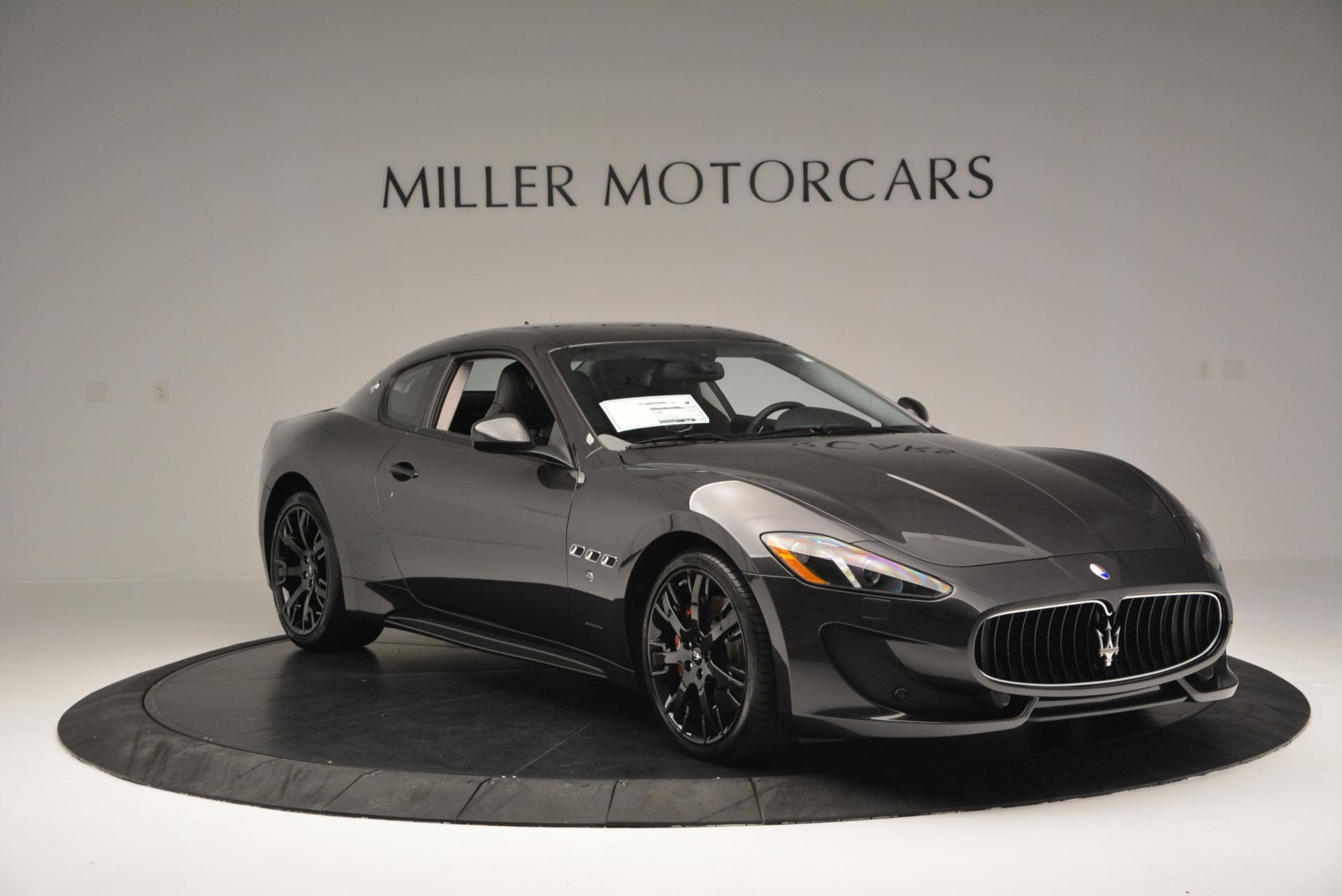 New 2016 Maserati GranTurismo Sport For Sale In Westport, CT 165_p11