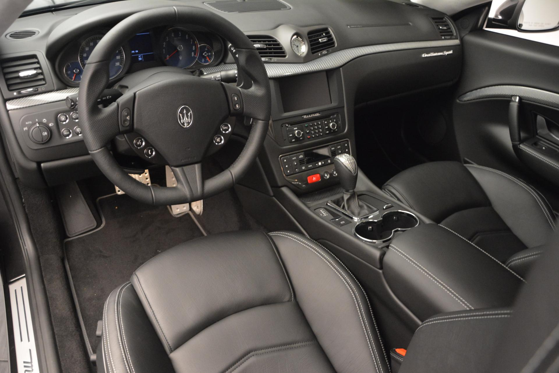 New 2016 Maserati GranTurismo Sport For Sale In Westport, CT 165_p13