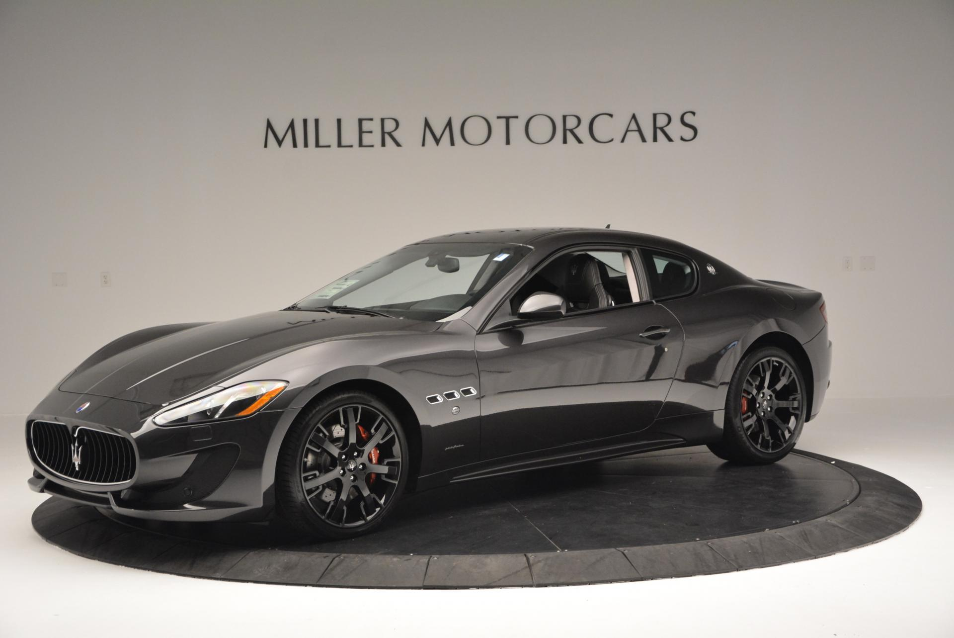 New 2016 Maserati GranTurismo Sport For Sale In Westport, CT 165_p2