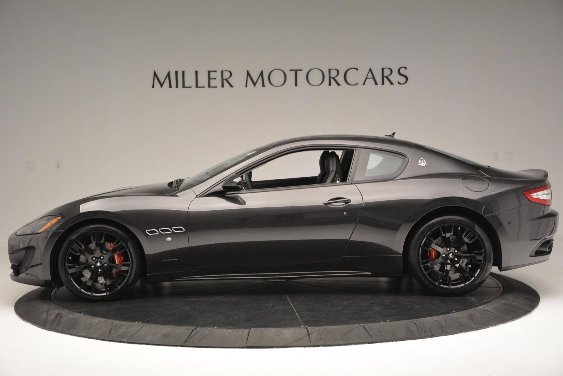 New 2016 Maserati GranTurismo Sport For Sale In Westport, CT 165_p3