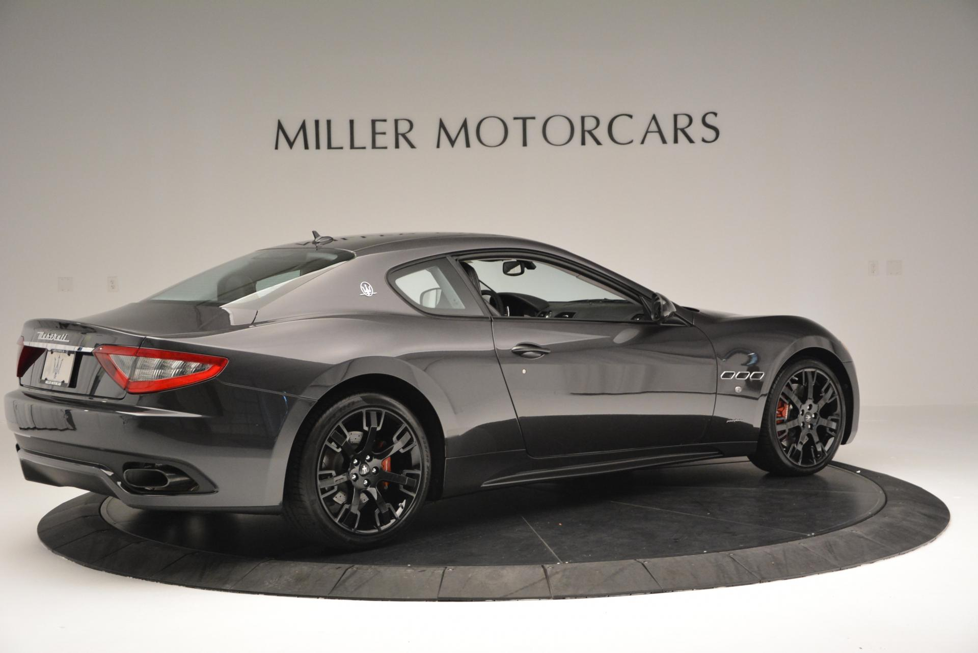 New 2016 Maserati GranTurismo Sport For Sale In Westport, CT 165_p8