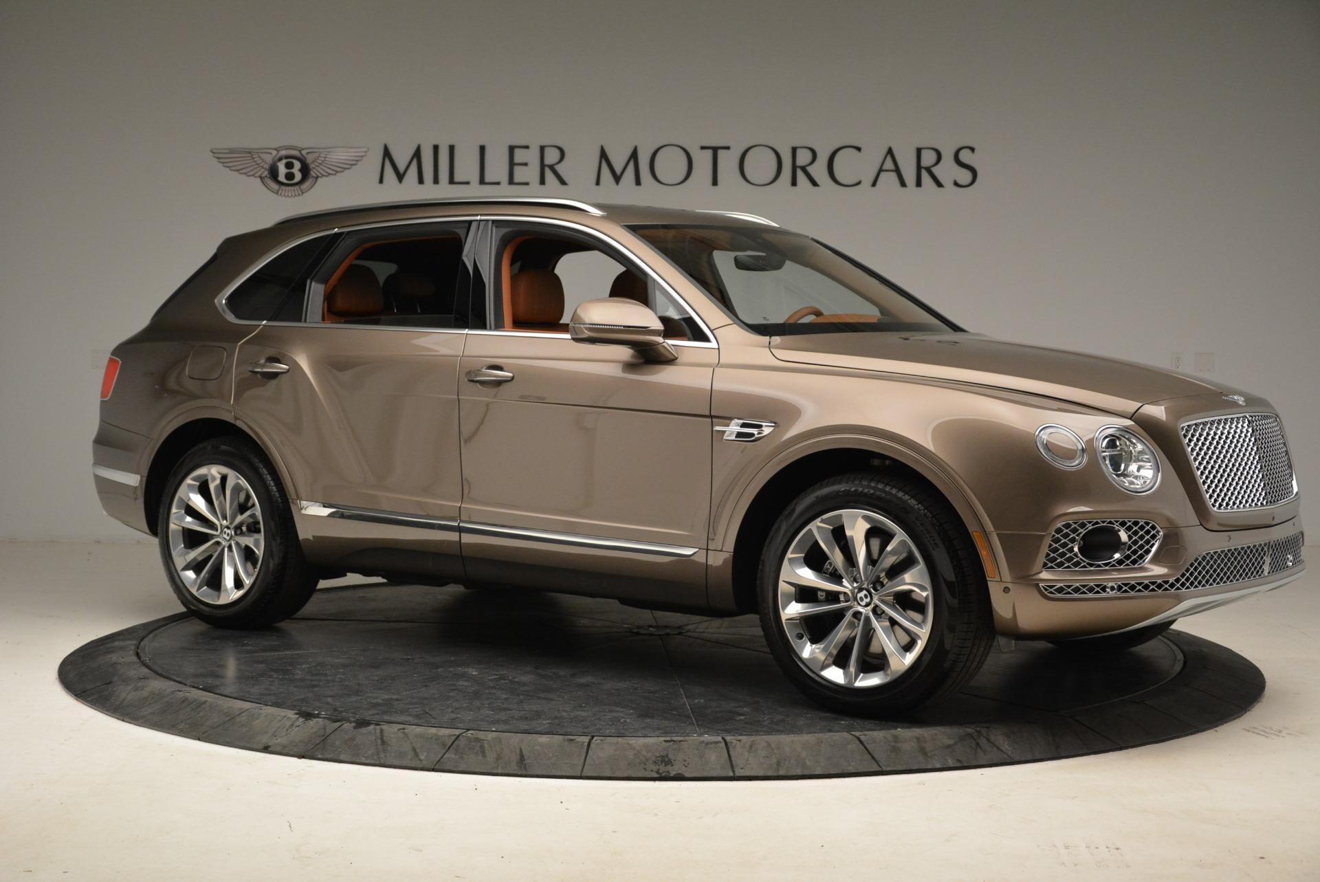 New 2018 Bentley Bentayga Signature For Sale In Westport, CT 1654_p10