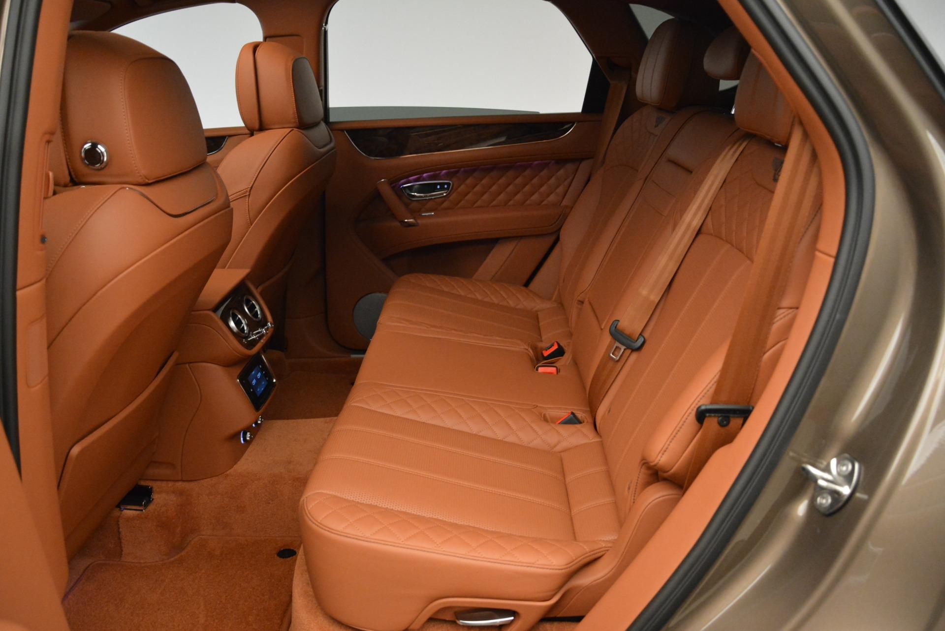 New 2018 Bentley Bentayga Signature For Sale In Westport, CT 1654_p24