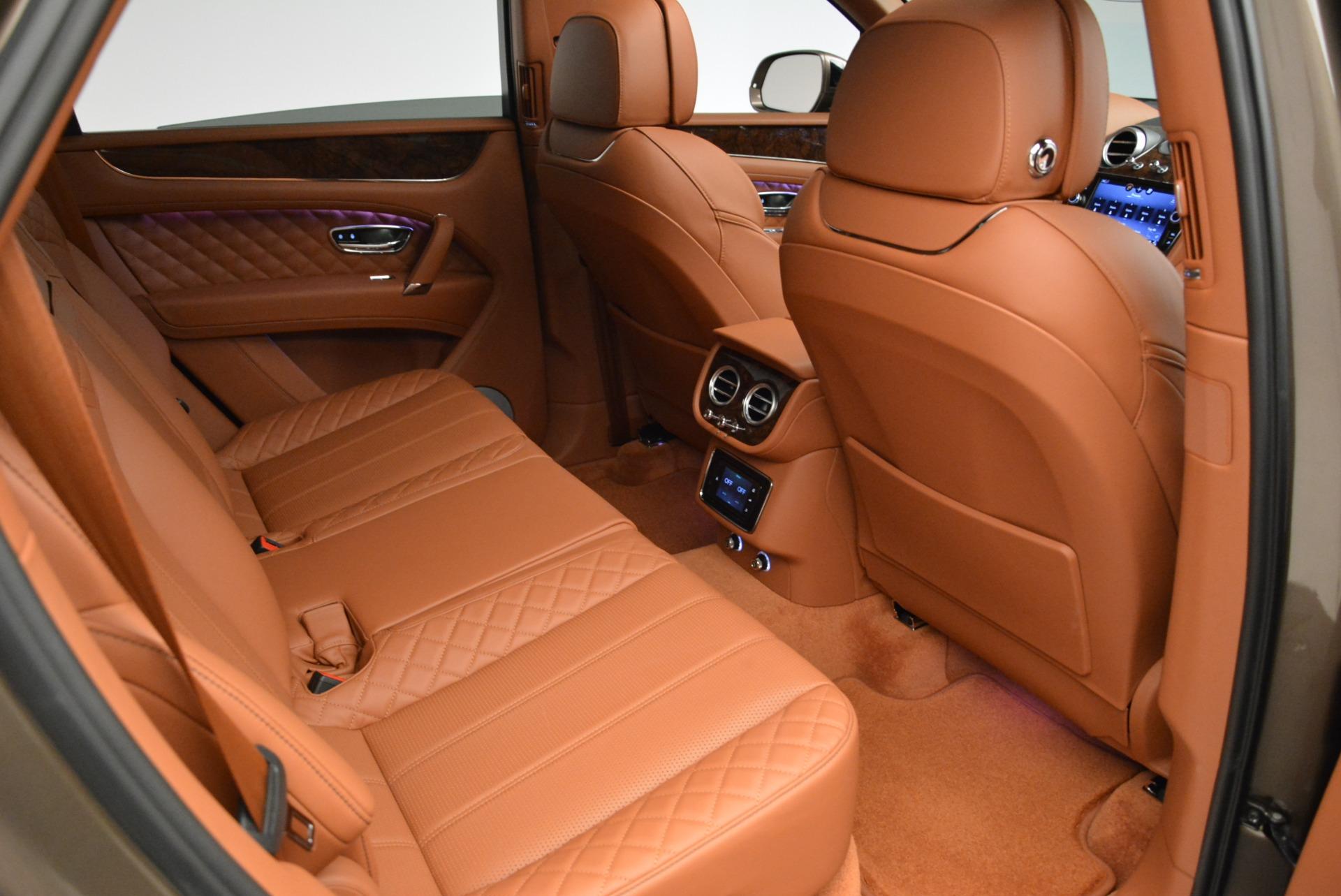 New 2018 Bentley Bentayga Signature For Sale In Westport, CT 1654_p30