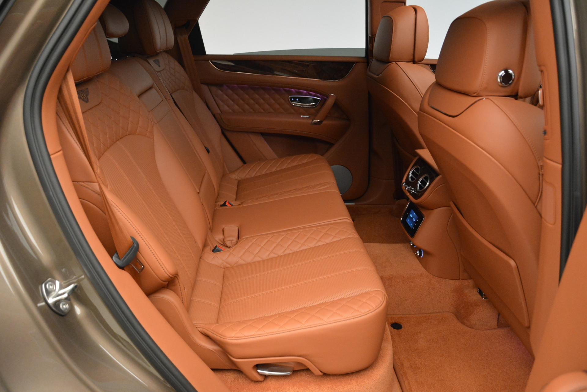 New 2018 Bentley Bentayga Signature For Sale In Westport, CT 1654_p31