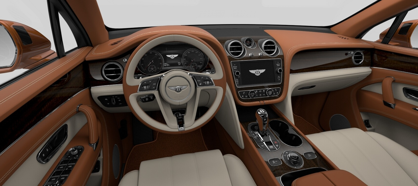 New 2018 Bentley Bentayga Onyx For Sale In Westport, CT 1664_p6
