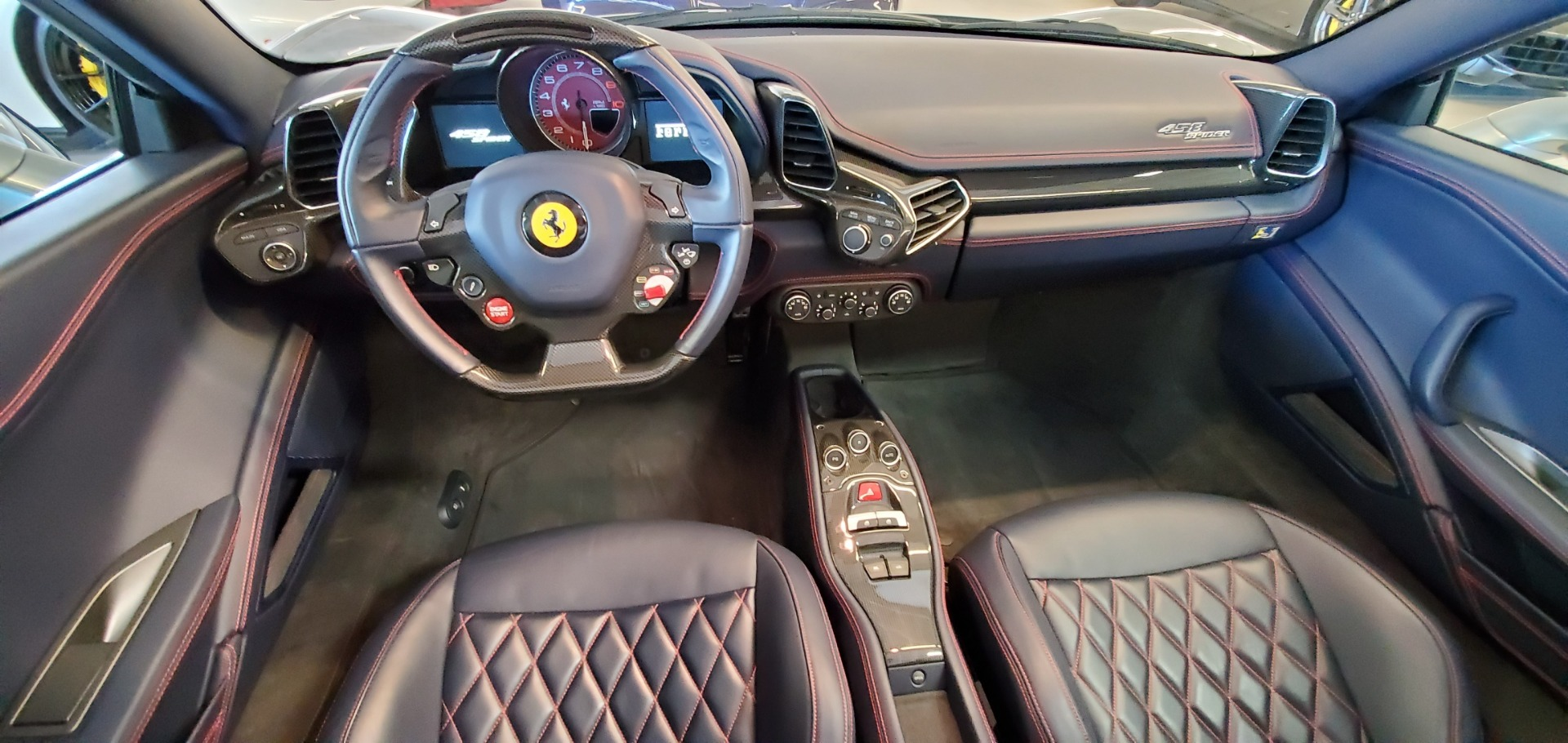Used 2015 Ferrari 458 Spider  For Sale In Westport, CT 1667_p22