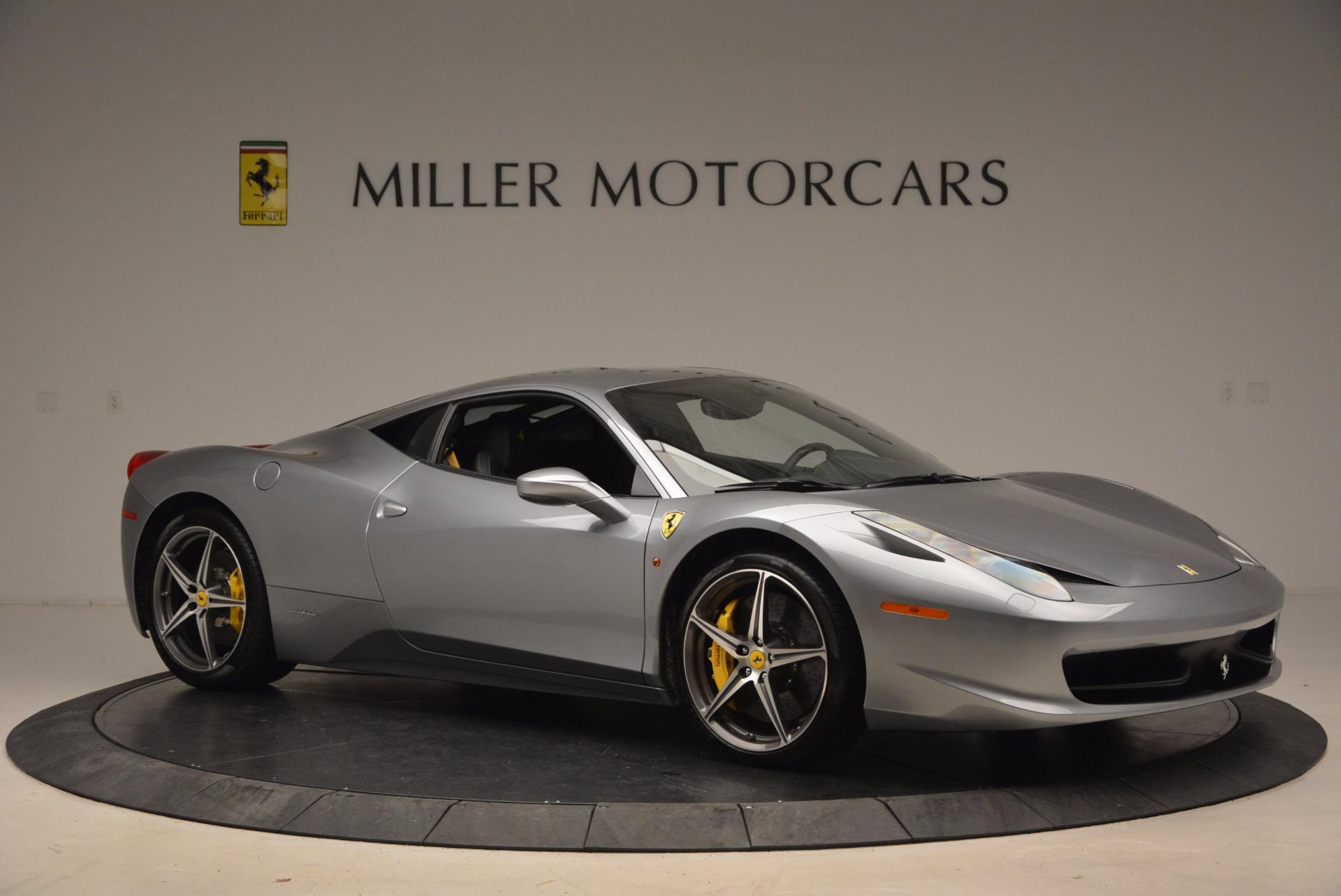 Used 2014 Ferrari 458 Italia  For Sale In Westport, CT 1669_p10