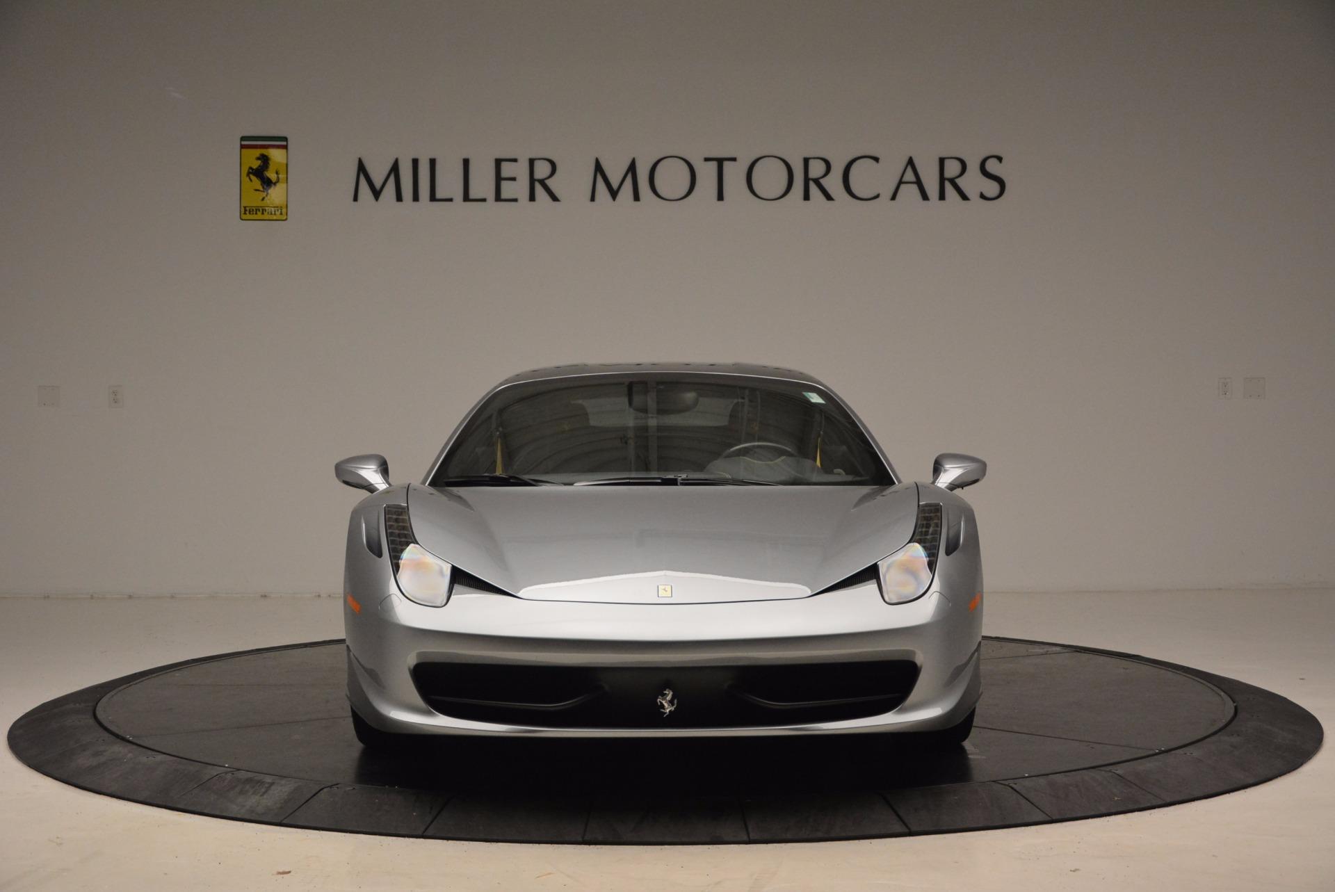 Used 2014 Ferrari 458 Italia  For Sale In Westport, CT 1669_p12