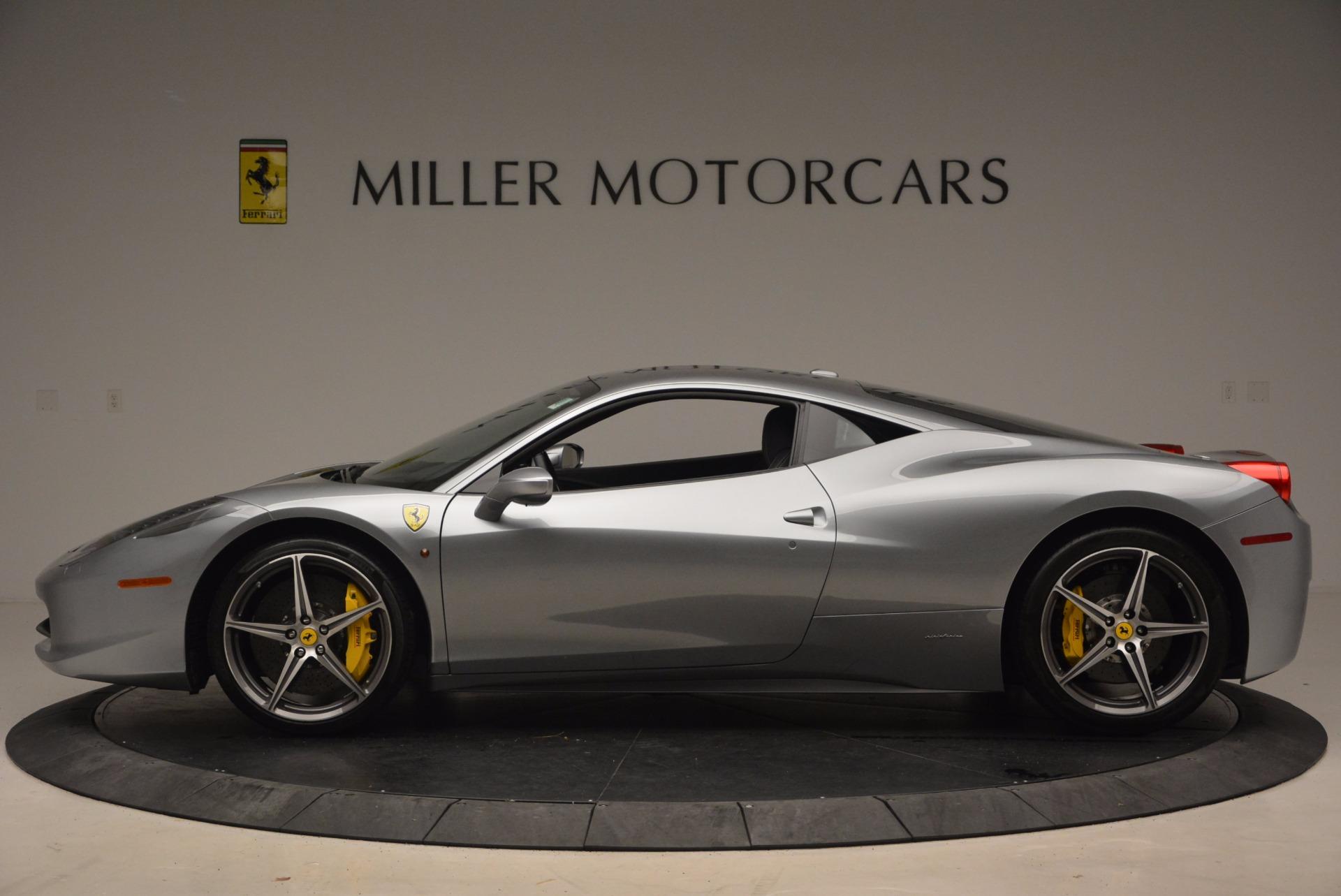 Used 2014 Ferrari 458 Italia  For Sale In Westport, CT 1669_p3