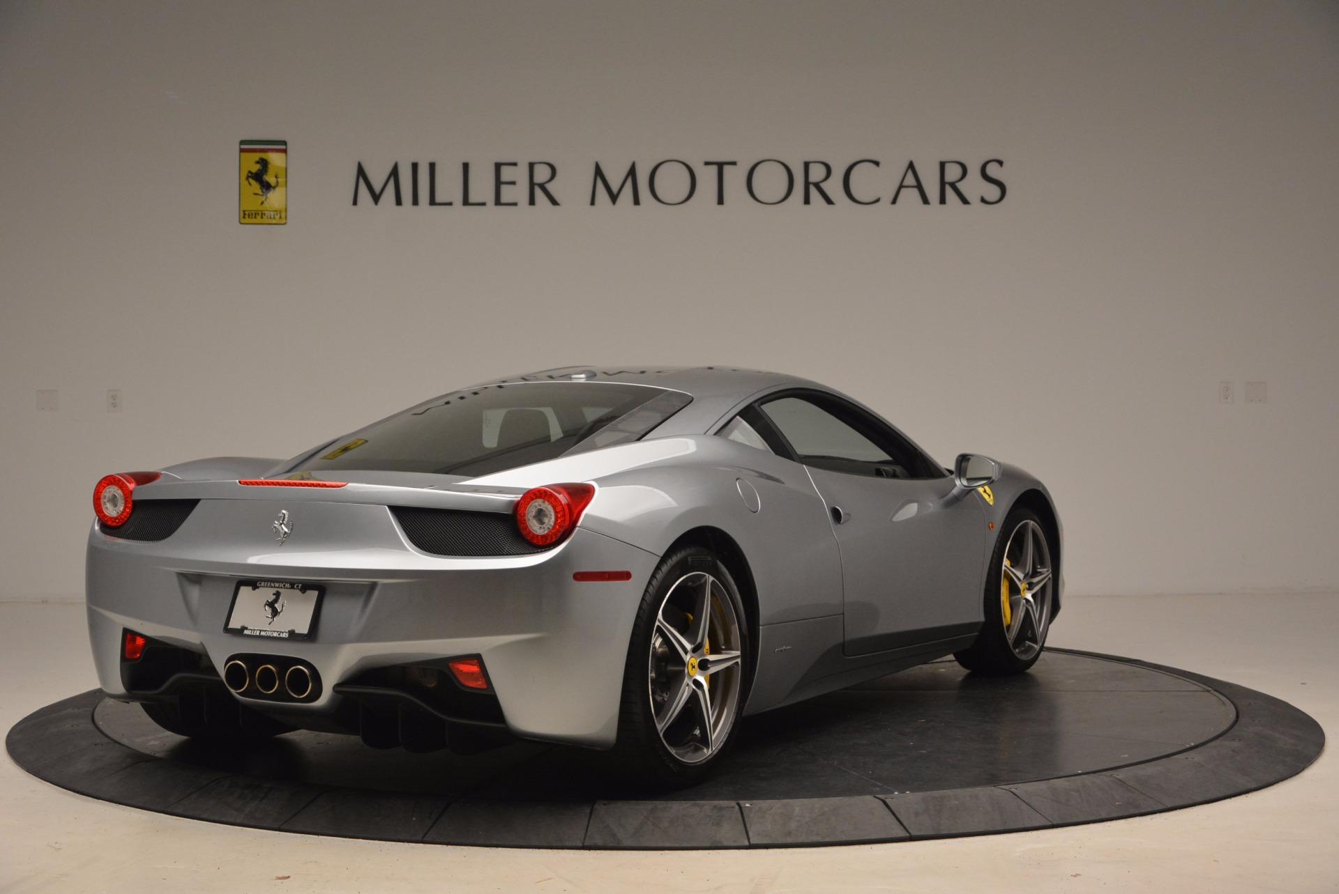 Used 2014 Ferrari 458 Italia  For Sale In Westport, CT 1669_p7