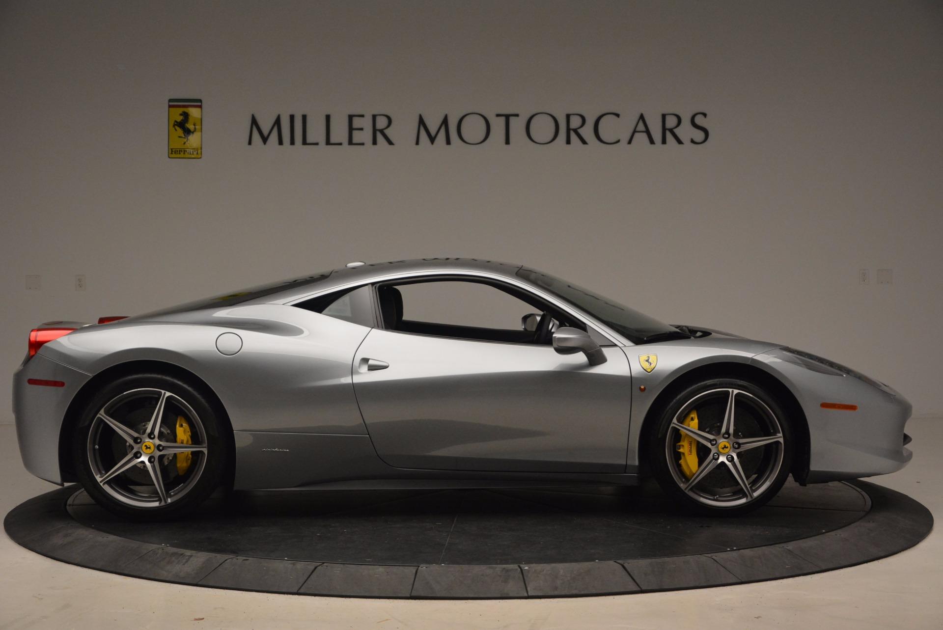 Used 2014 Ferrari 458 Italia  For Sale In Westport, CT 1669_p9