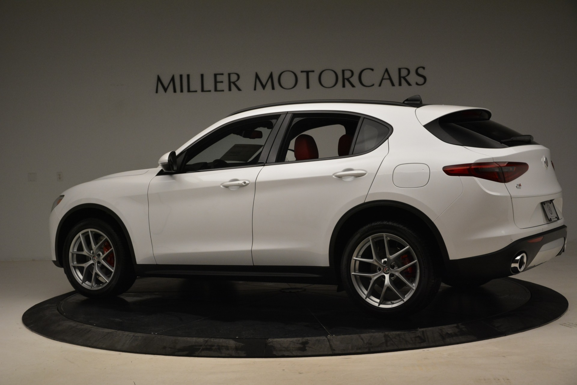 New 2018 Alfa Romeo Stelvio Ti Q4 For Sale In Westport, CT 1679_p4