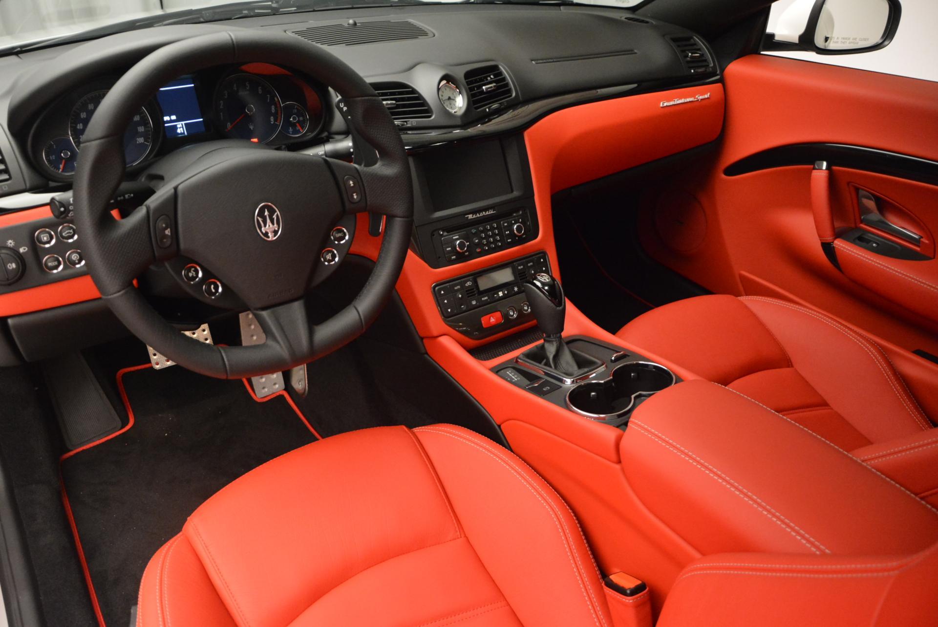 New 2017 Maserati GranTurismo Sport For Sale In Westport, CT 168_p13