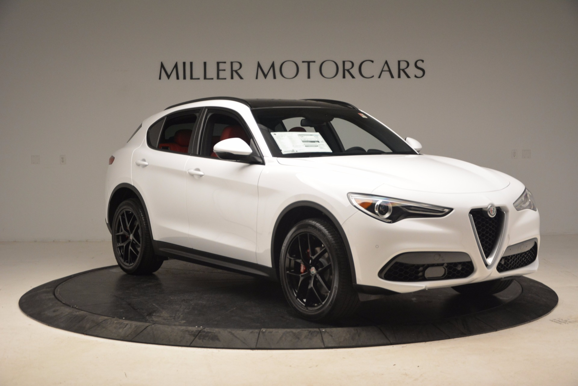 New 2018 Alfa Romeo Stelvio Ti Sport Q4 For Sale In Westport, CT 1684_p11
