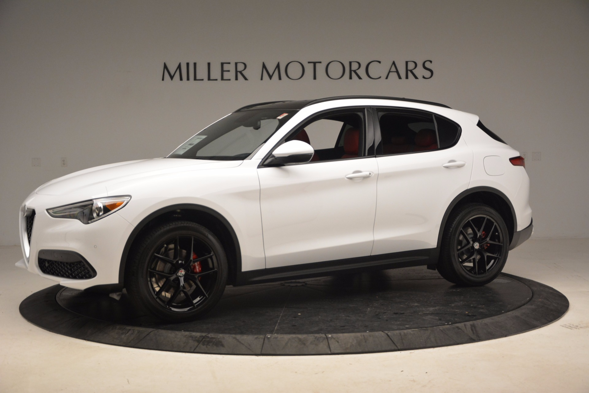 New 2018 Alfa Romeo Stelvio Ti Sport Q4 For Sale In Westport, CT 1684_p2