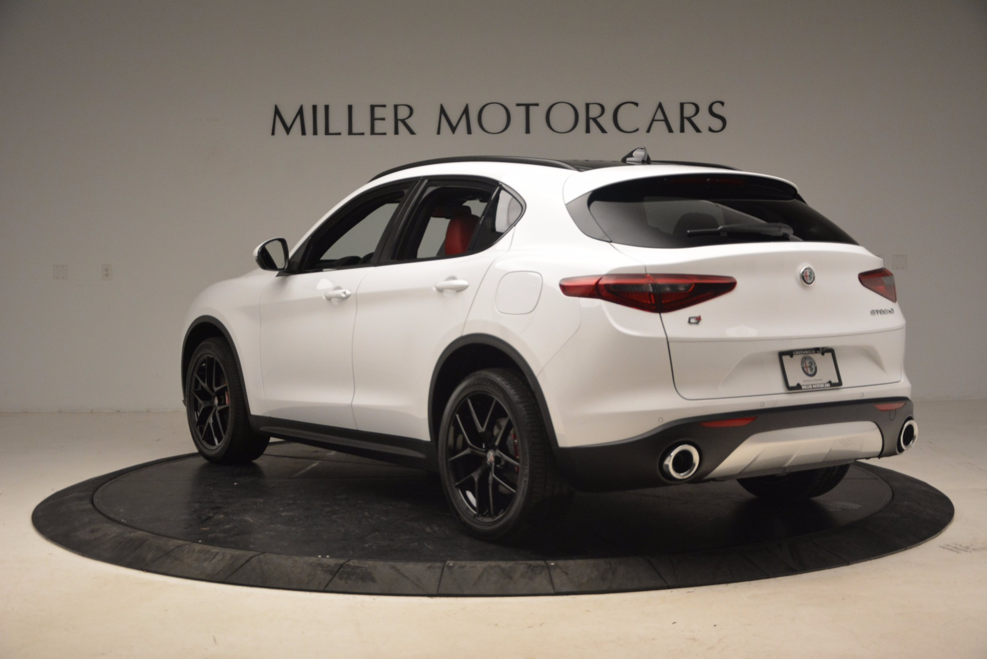 New 2018 Alfa Romeo Stelvio Ti Sport Q4 For Sale In Westport, CT 1684_p5