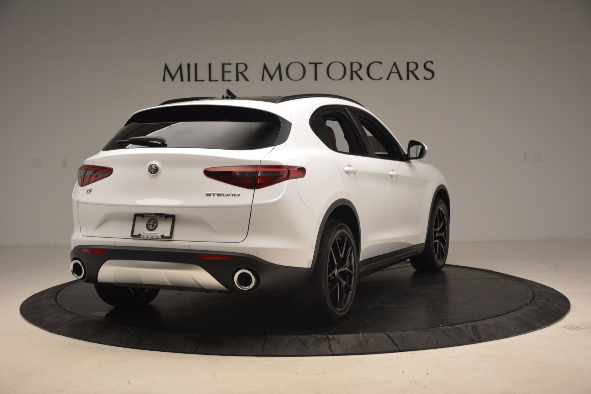 New 2018 Alfa Romeo Stelvio Ti Sport Q4 For Sale In Westport, CT 1684_p7