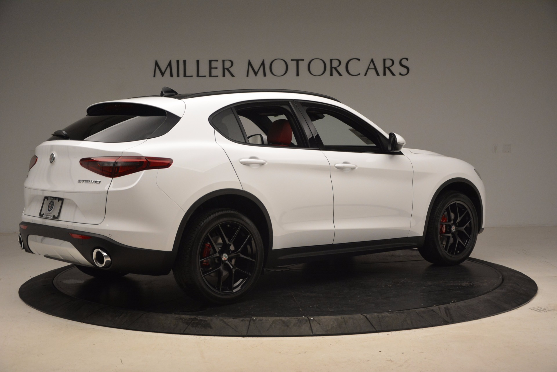New 2018 Alfa Romeo Stelvio Ti Sport Q4 For Sale In Westport, CT 1684_p8