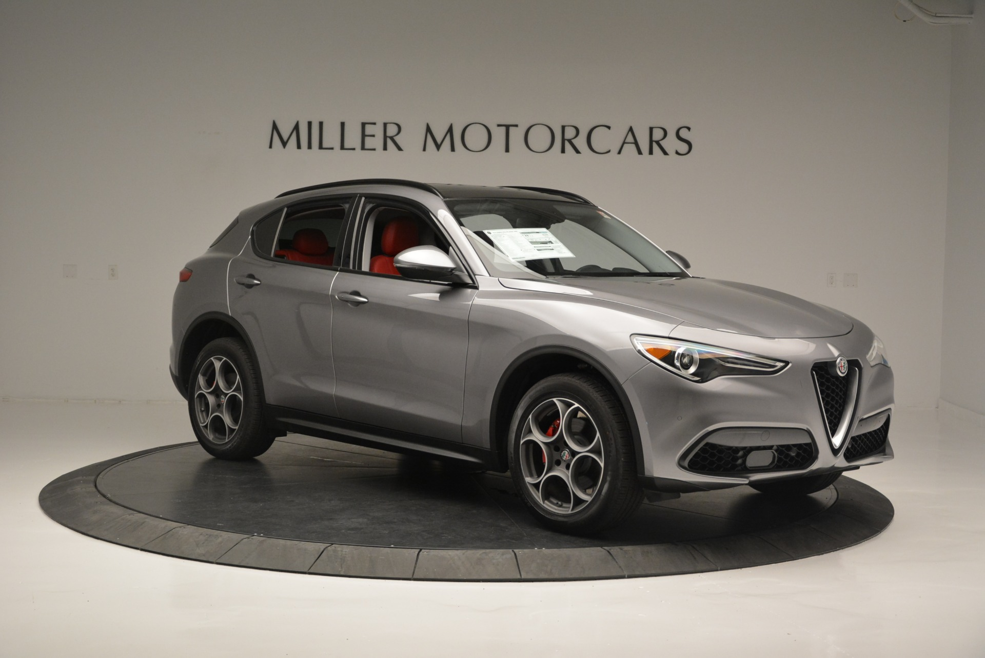 New 2018 Alfa Romeo Stelvio Sport Q4 For Sale In Westport, CT 1686_p10