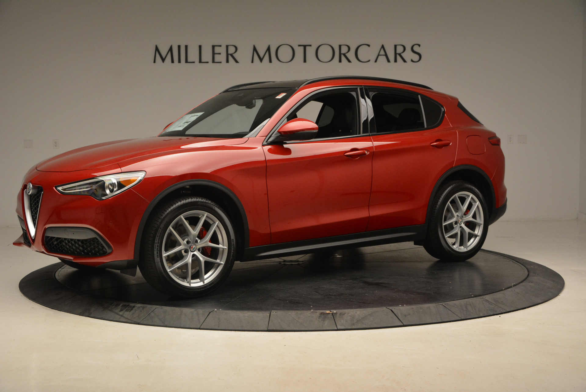 New 2018 Alfa Romeo Stelvio Ti Sport Q4 For Sale In Westport, CT 1689_p2
