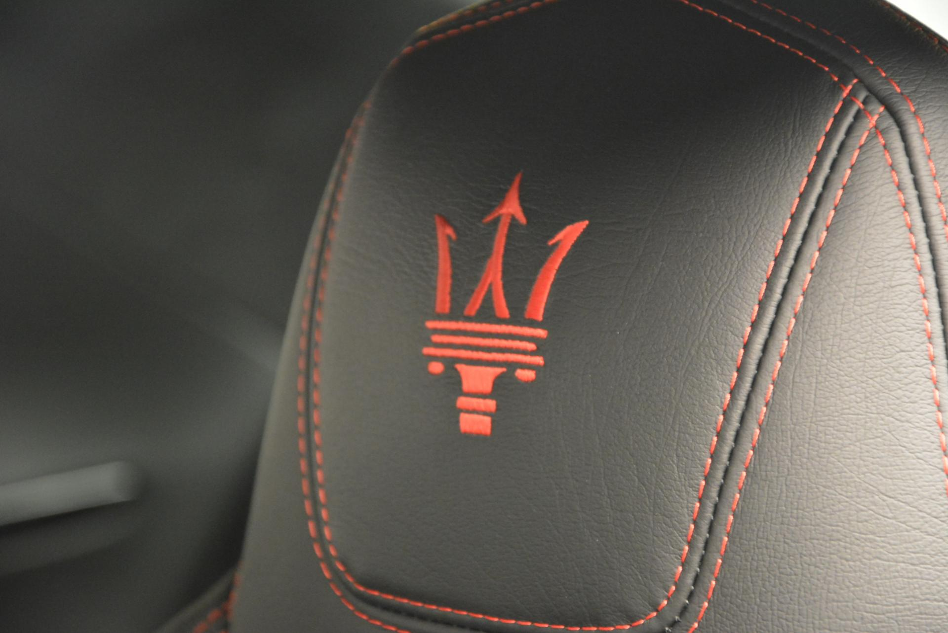 New 2016 Maserati GranTurismo Sport For Sale In Westport, CT 169_p14