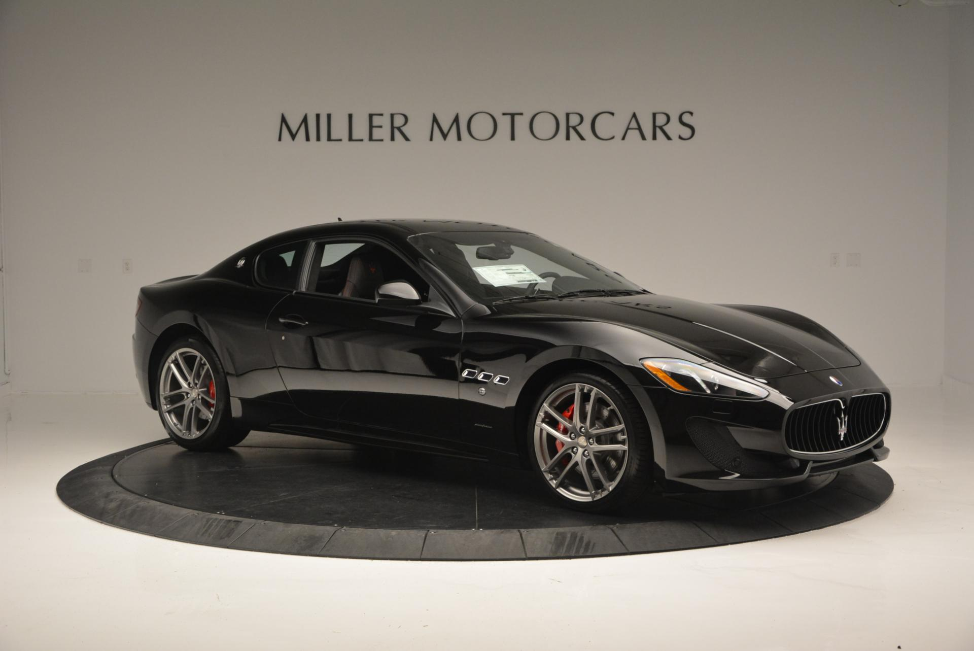 New 2016 Maserati GranTurismo Sport For Sale In Westport, CT 169_p9