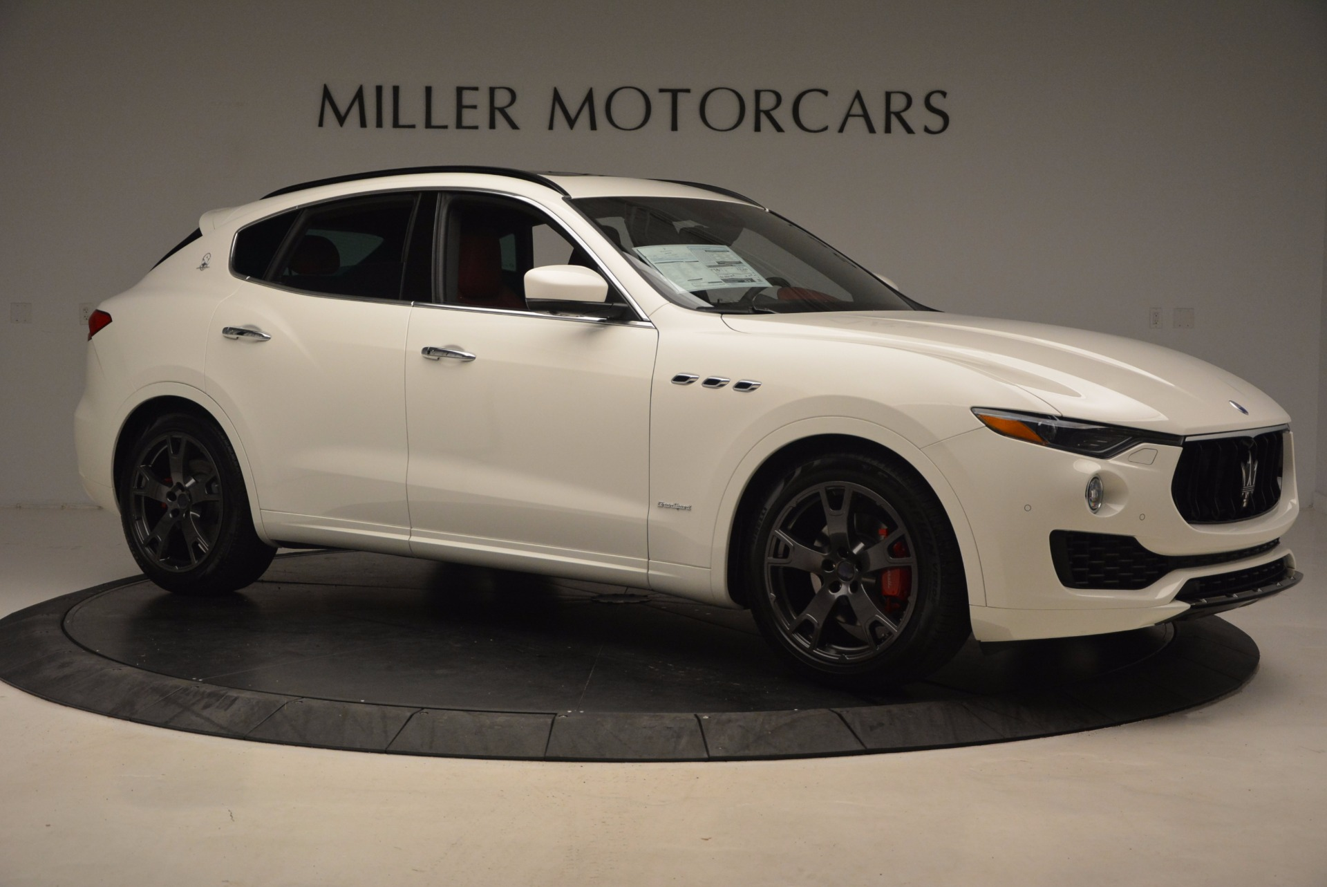 New 2018 Maserati Levante Q4 GranSport For Sale In Westport, CT 1701_p10
