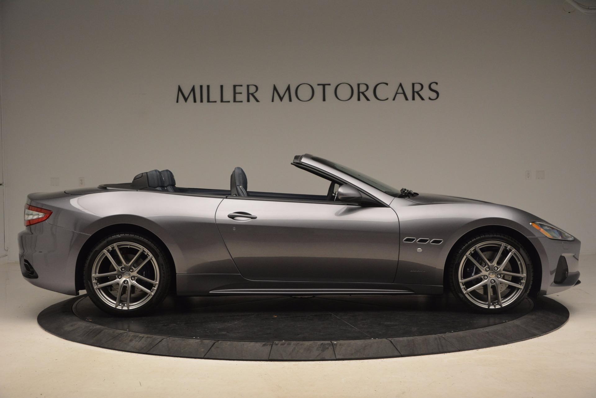 New 2018 Maserati GranTurismo Sport Convertible For Sale In Westport, CT 1703_p17