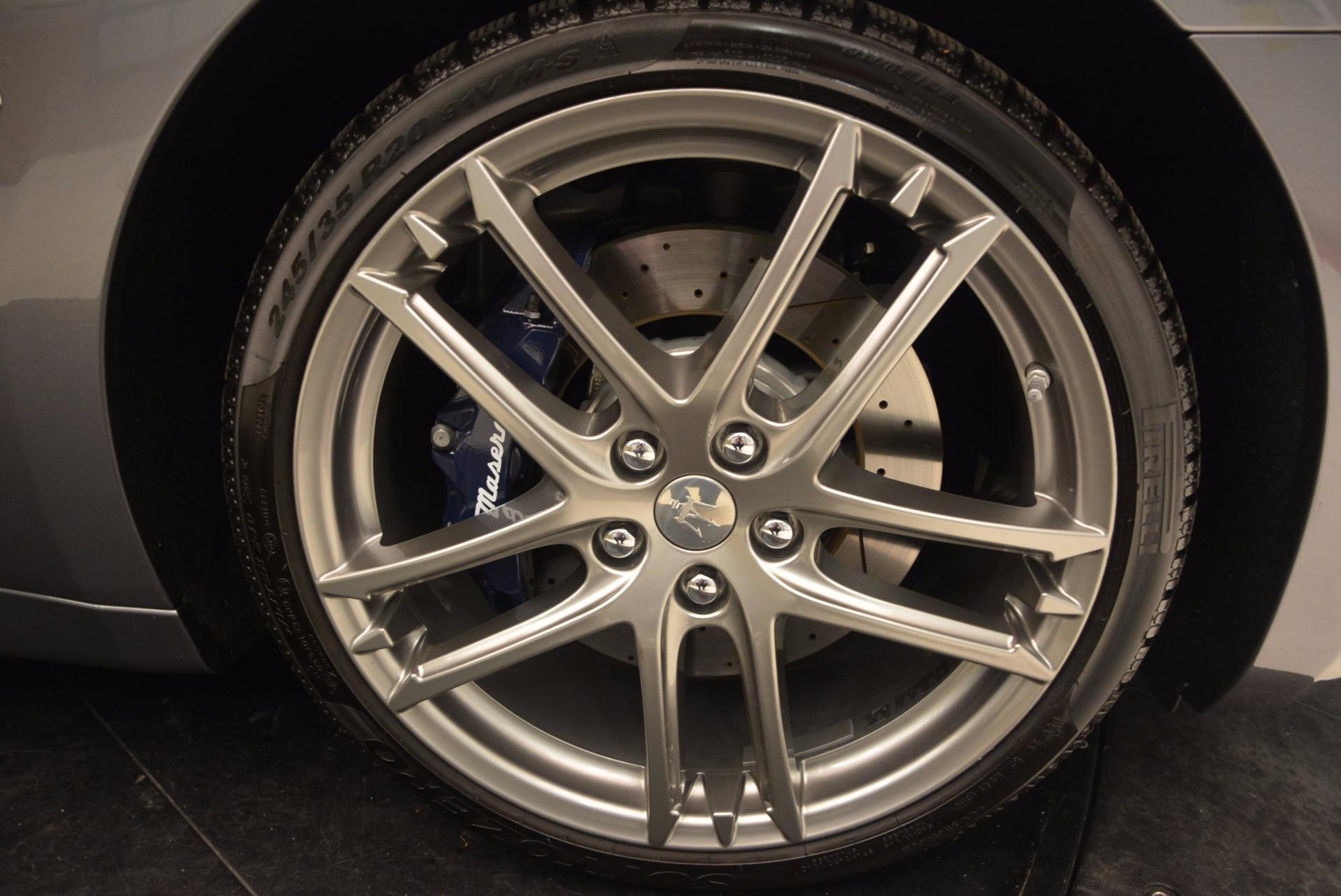 New 2018 Maserati GranTurismo Sport For Sale In Westport, CT 1707_p39