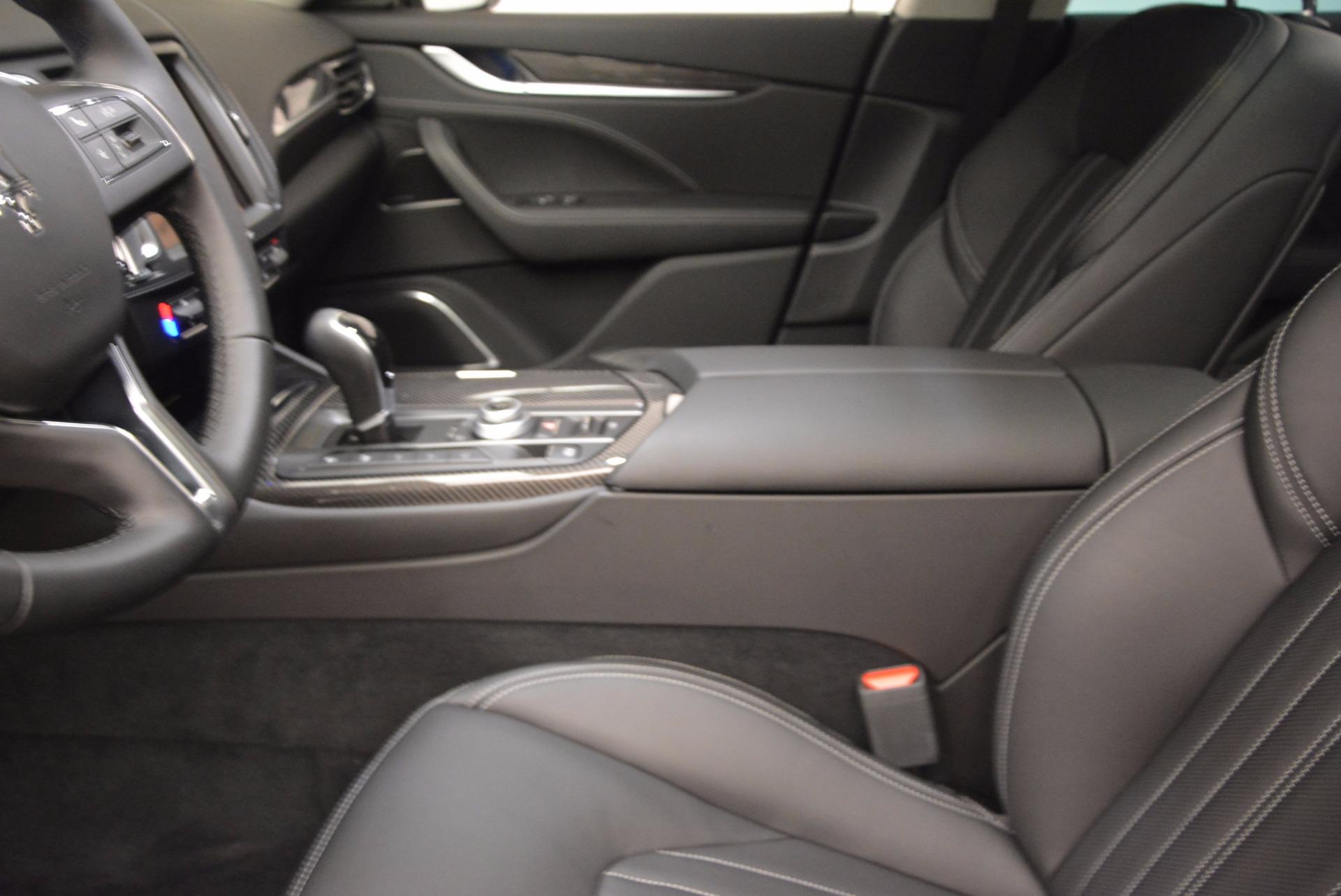 New 2018 Maserati Levante Q4 GranLusso For Sale In Westport, CT 1709_p14