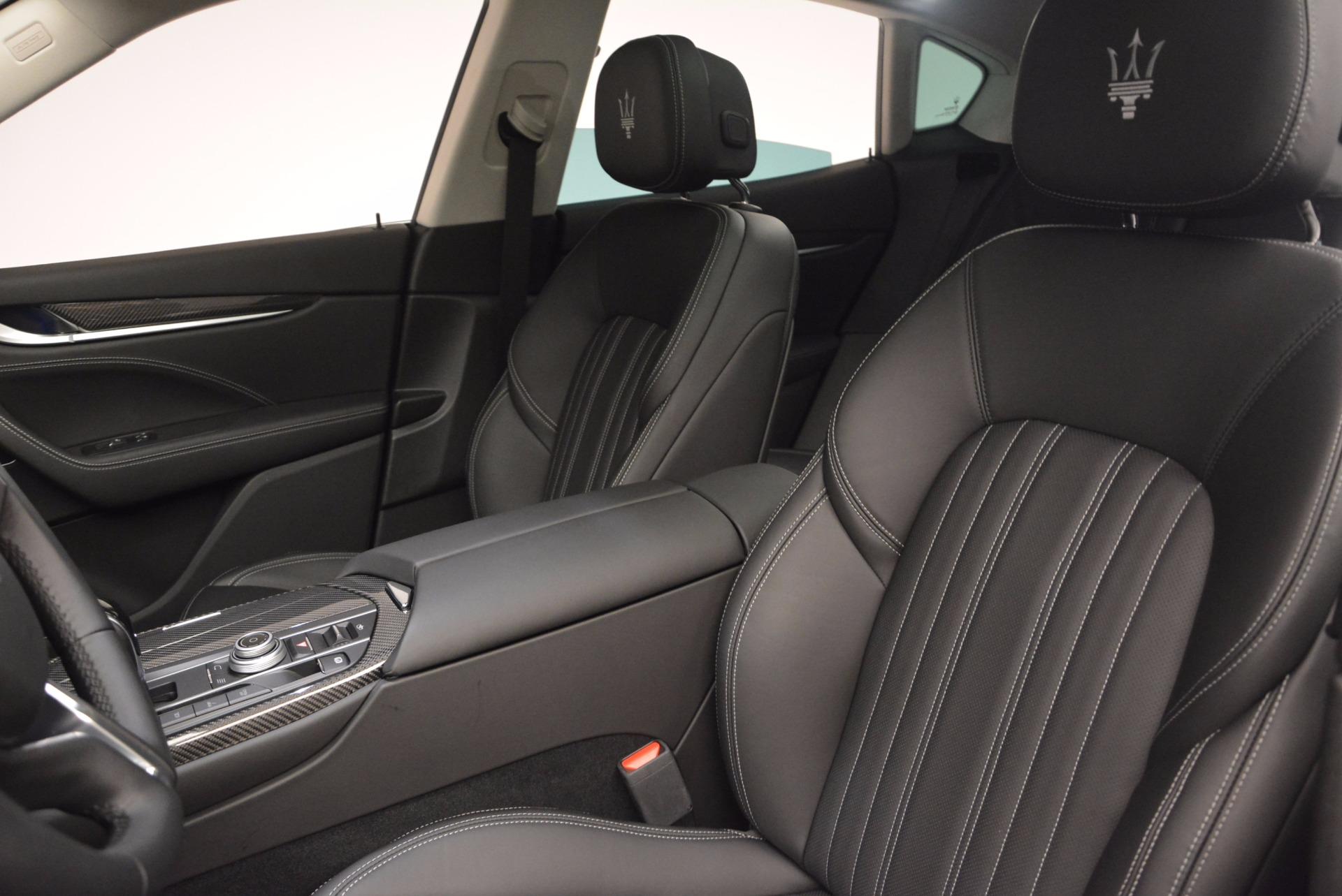 New 2018 Maserati Levante Q4 GranLusso For Sale In Westport, CT 1709_p15