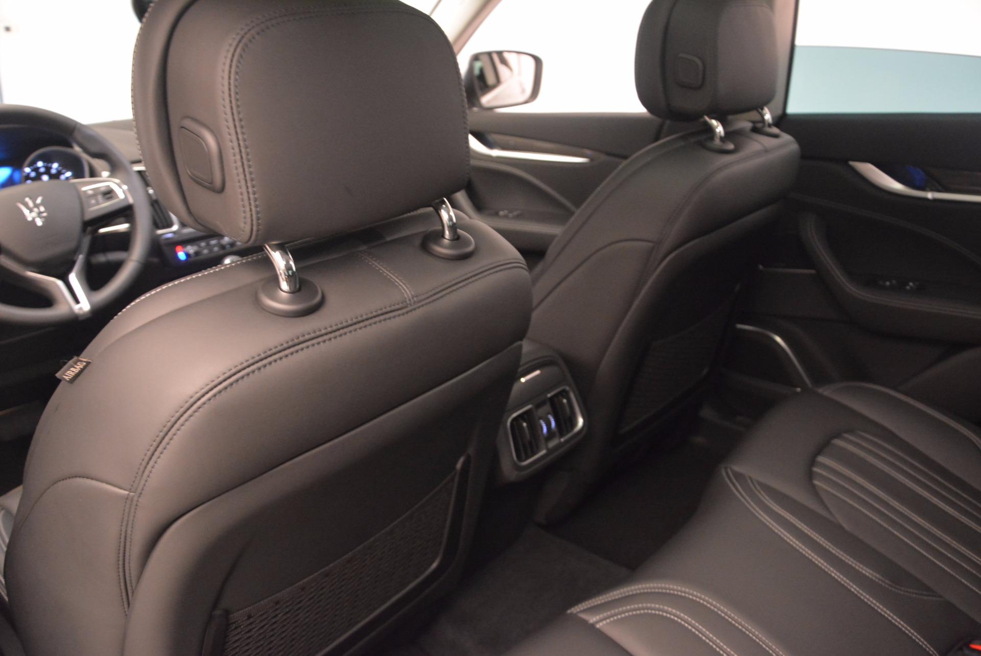 New 2018 Maserati Levante Q4 GranLusso For Sale In Westport, CT 1709_p17