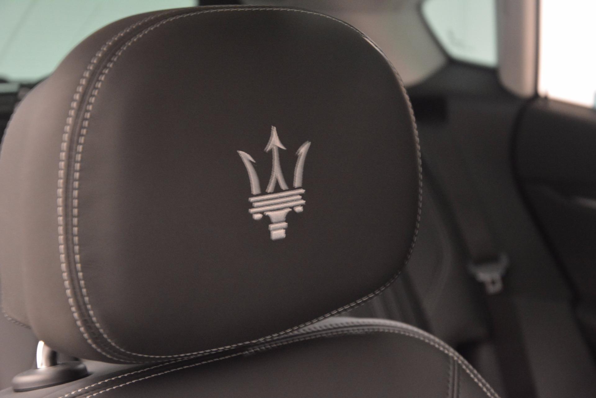 New 2018 Maserati Levante Q4 GranLusso For Sale In Westport, CT 1709_p26