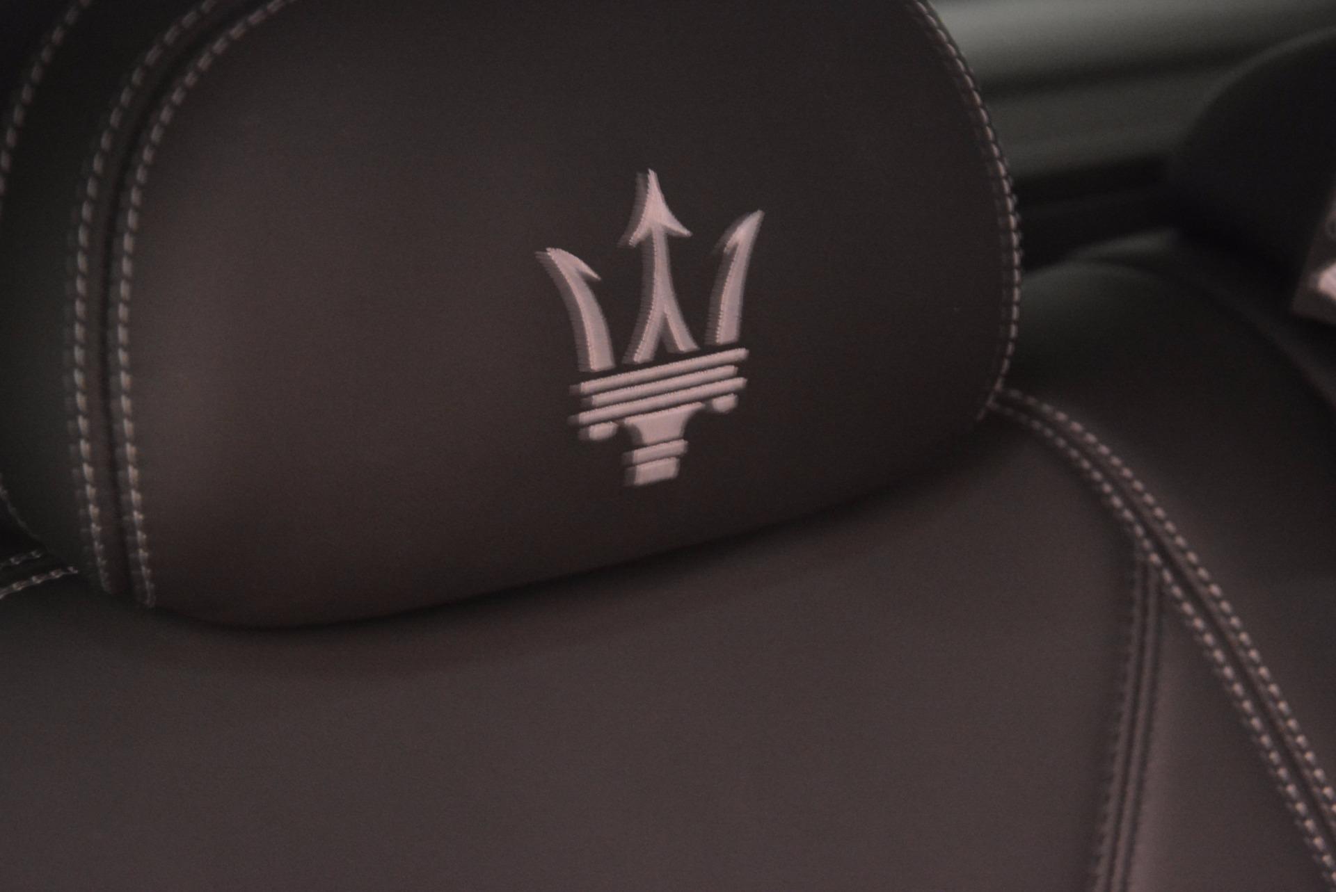 New 2018 Maserati Levante Q4 GranLusso For Sale In Westport, CT 1709_p29